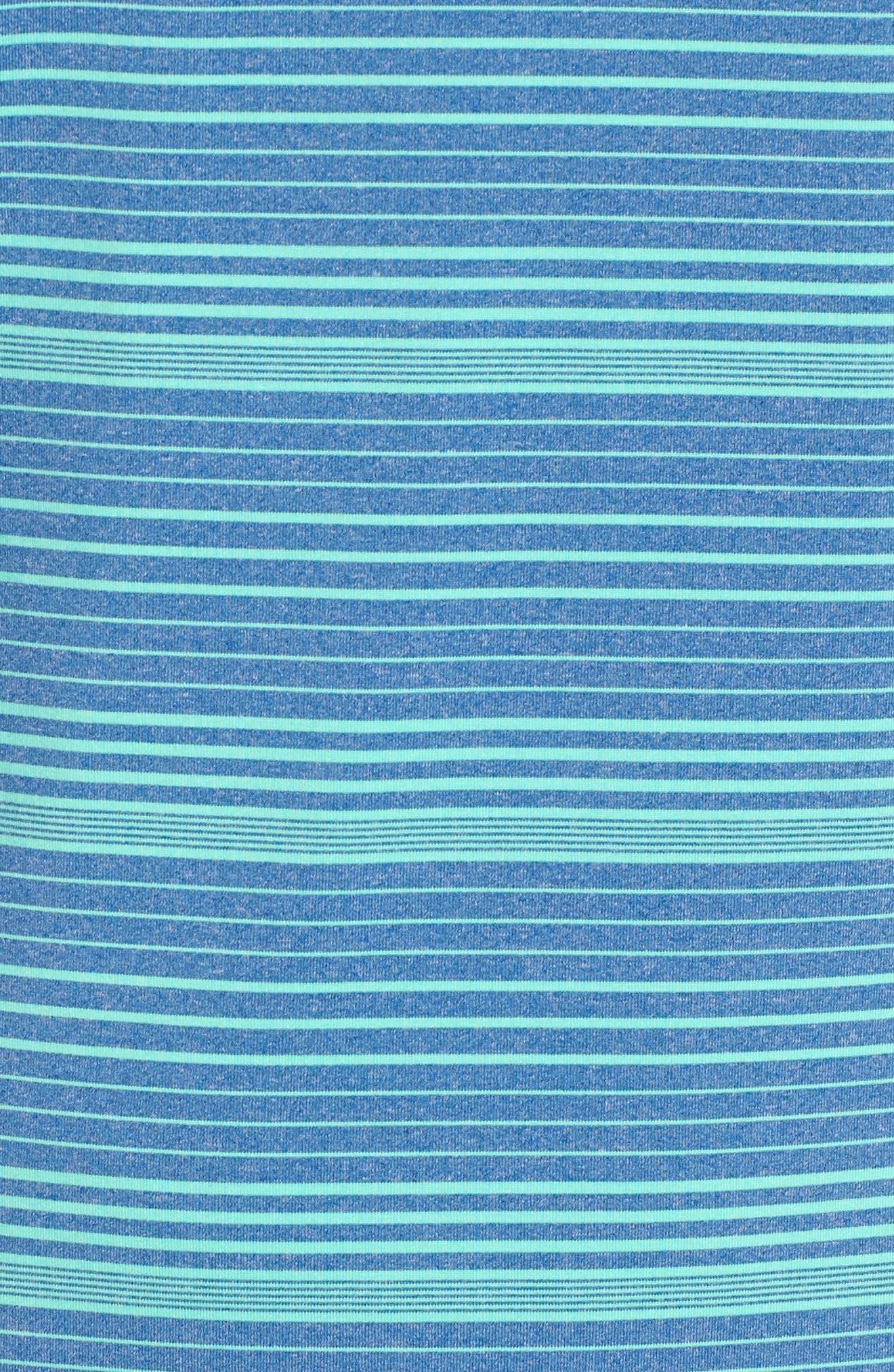 Cateonic Stripe Performance Polo,                             Alternate thumbnail 14, color,