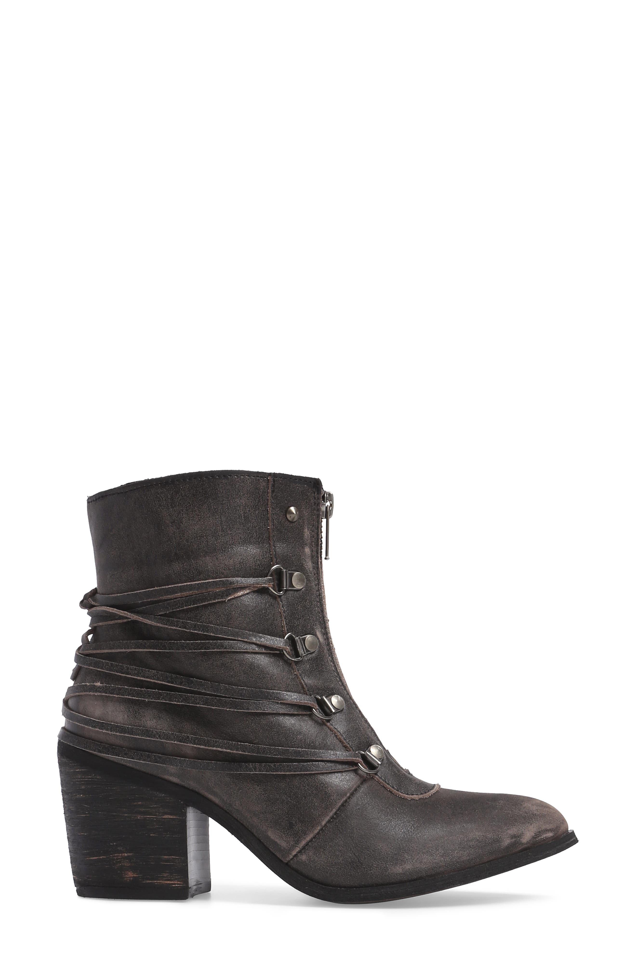 Peacekeeper Lace-Up Bootie,                             Alternate thumbnail 3, color,                             001