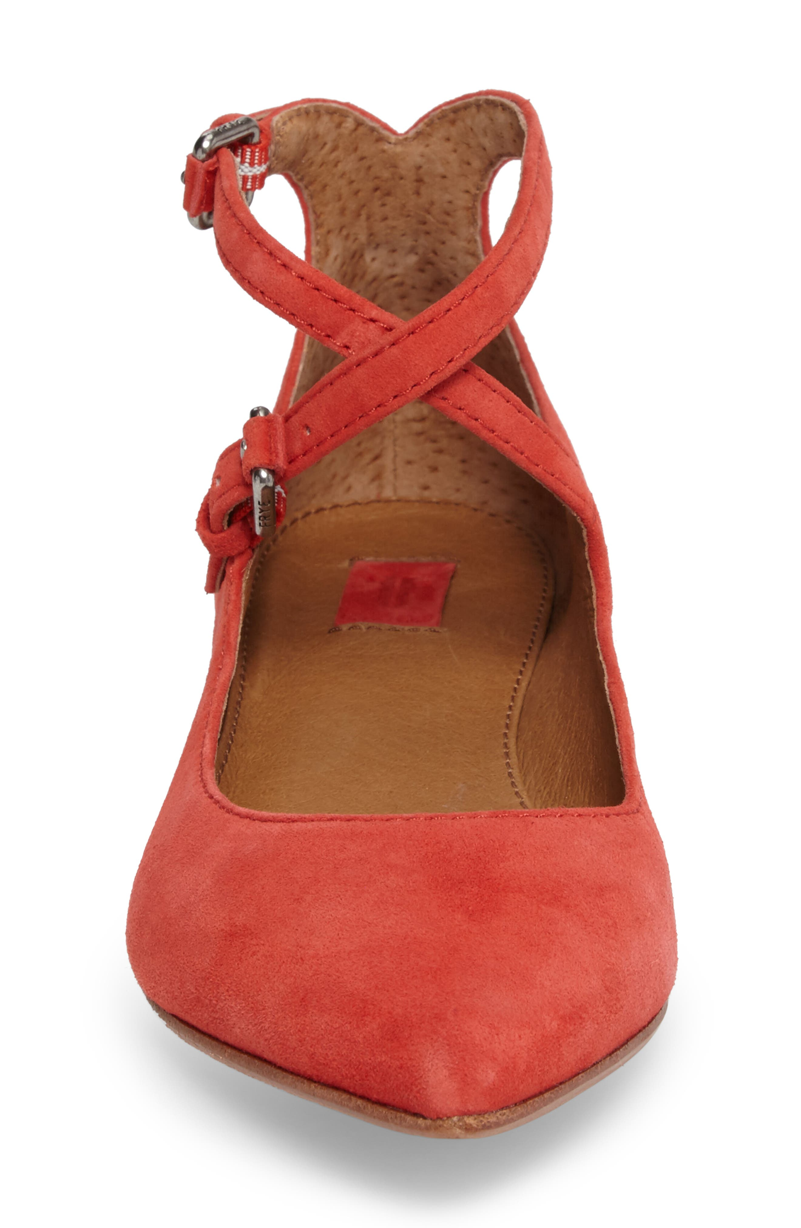 Sienna Cross Ballet Flat,                             Alternate thumbnail 12, color,