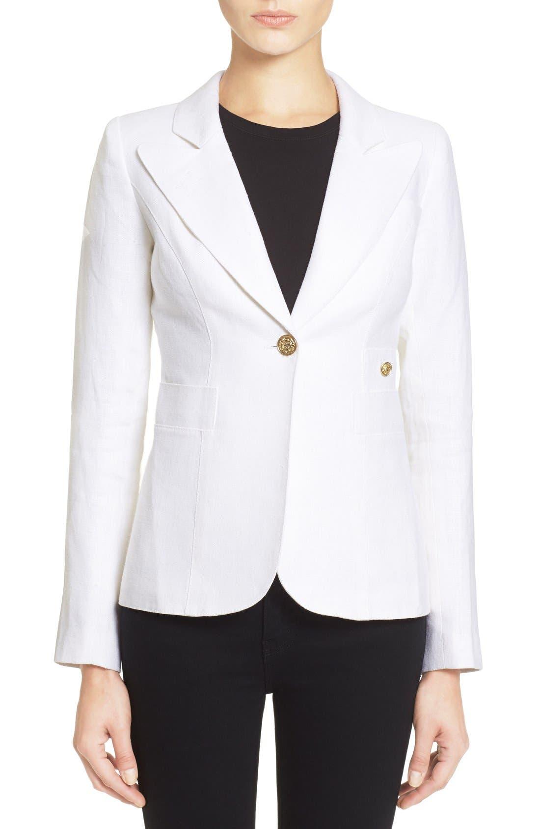 'Duchess' Single Button Blazer,                             Main thumbnail 3, color,