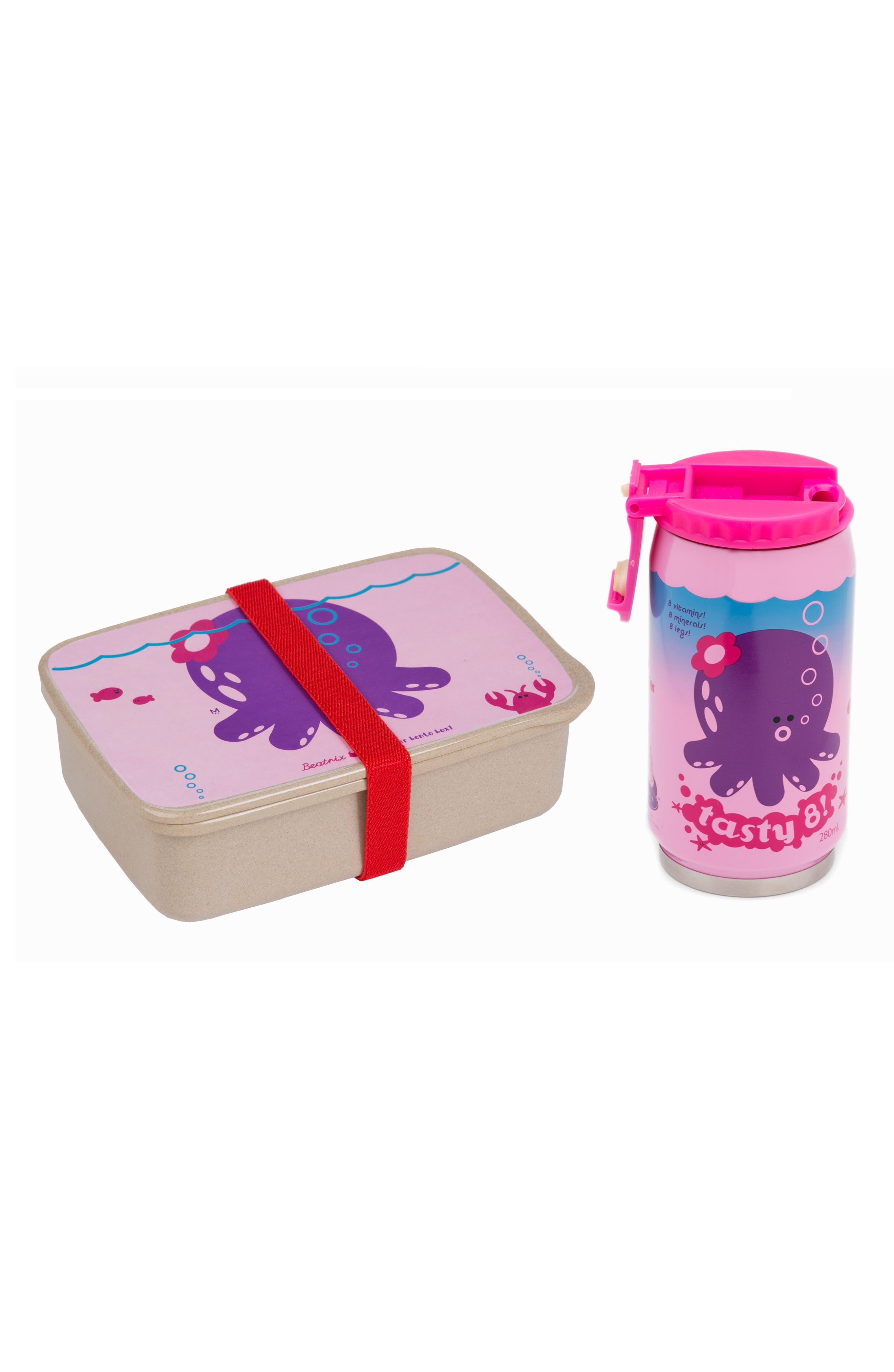 Bento Box & Bottle Set,                             Main thumbnail 4, color,