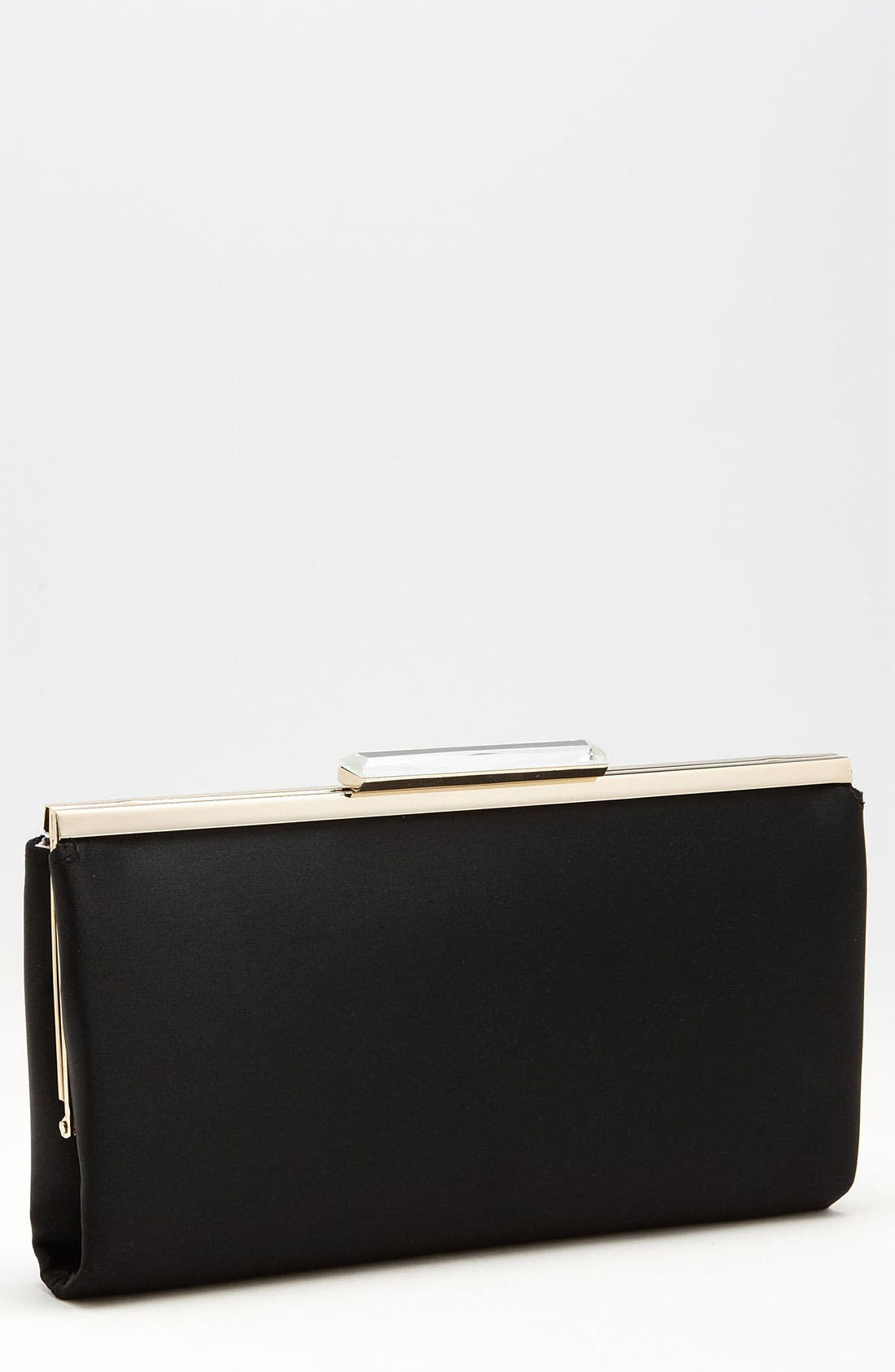 Crystal Topper Clutch,                             Main thumbnail 1, color,                             001