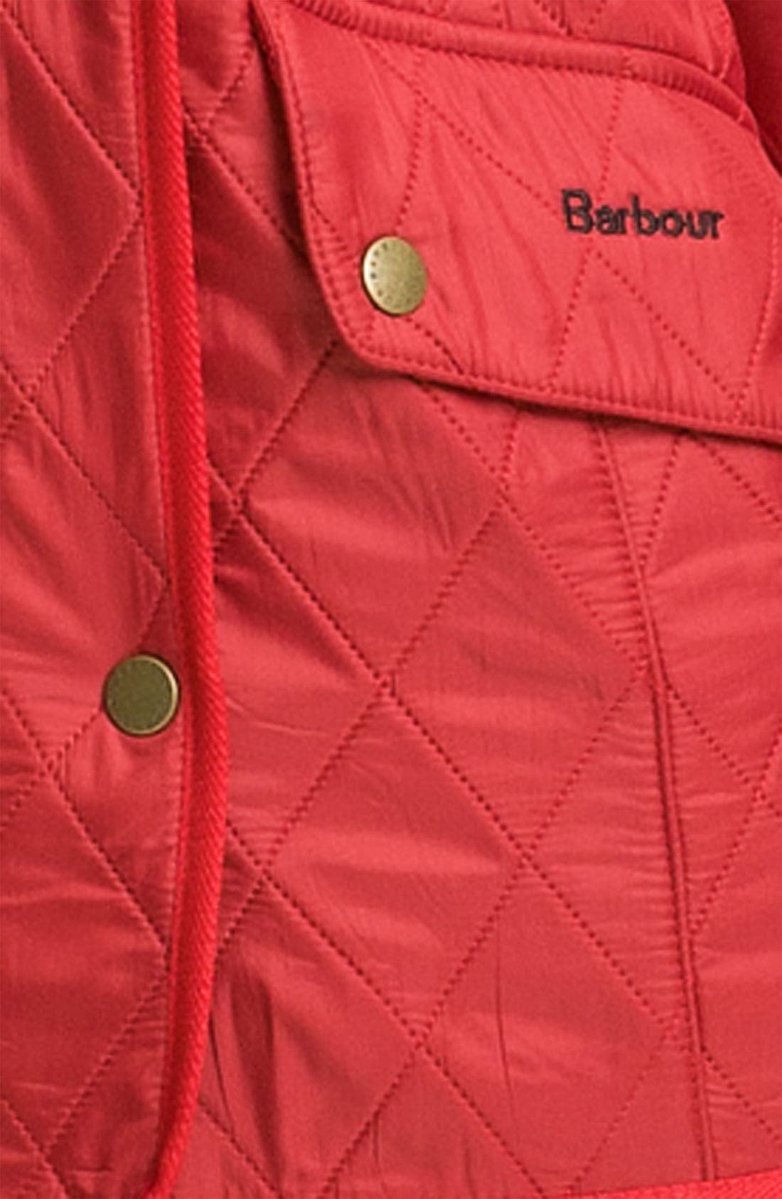 'Cavalry' Quilted Jacket,                             Alternate thumbnail 24, color,
