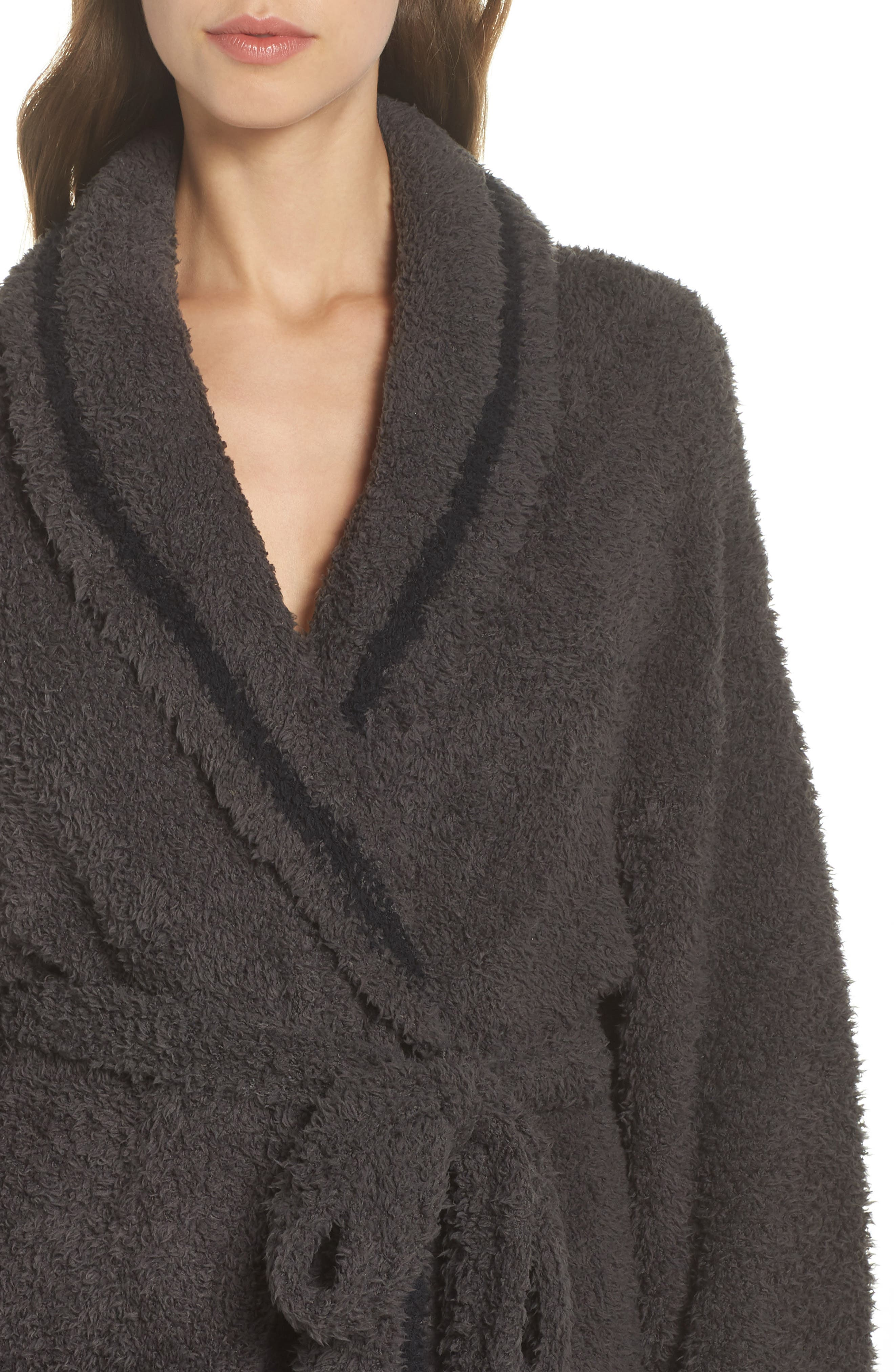 x Disney Classic Series CozyChic<sup>®</sup> Robe,                             Alternate thumbnail 4, color,                             CARBON/ BLACK