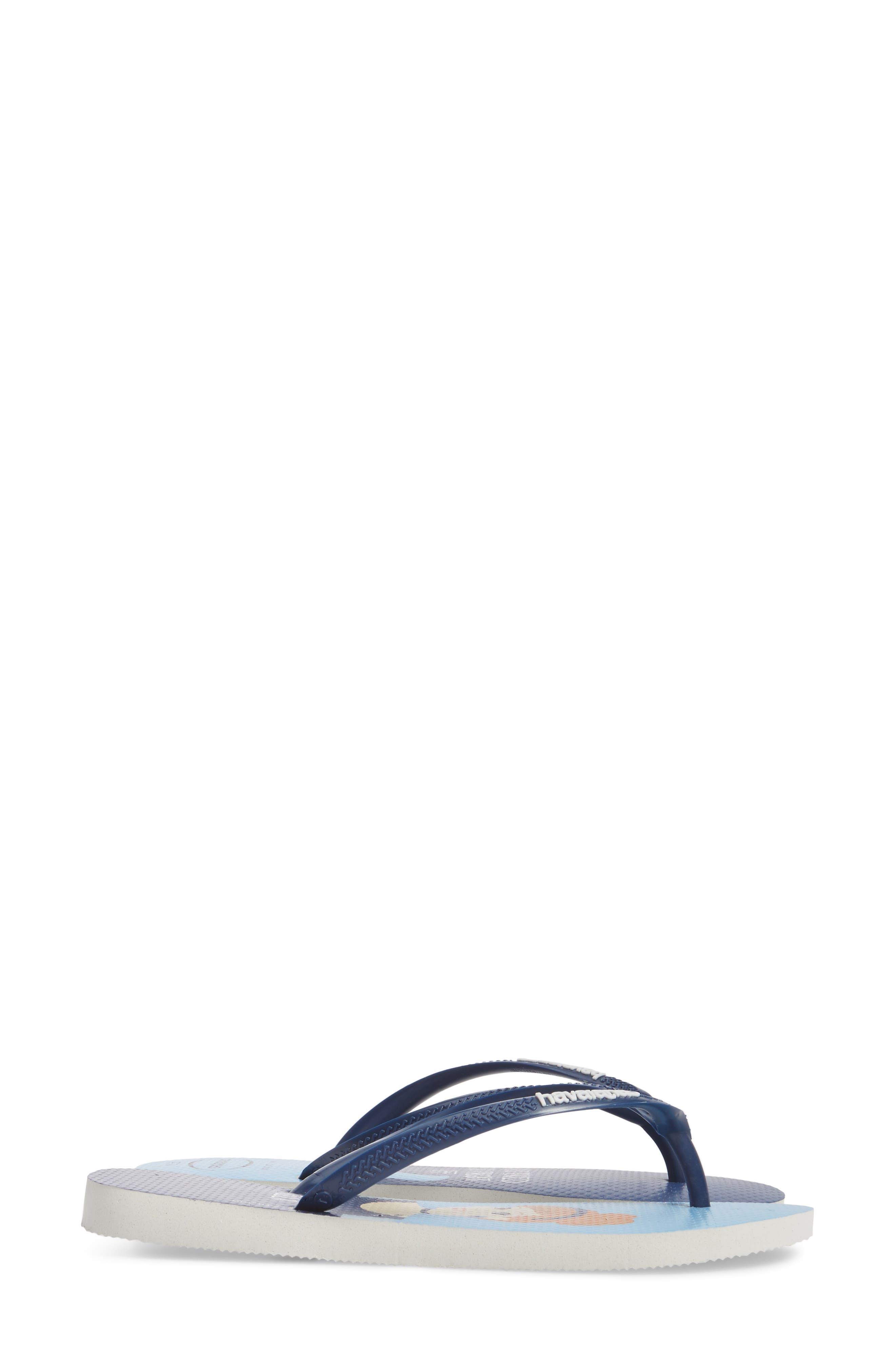 Havaiana Slim - Disney Princess Flip Flop,                             Alternate thumbnail 3, color,                             401