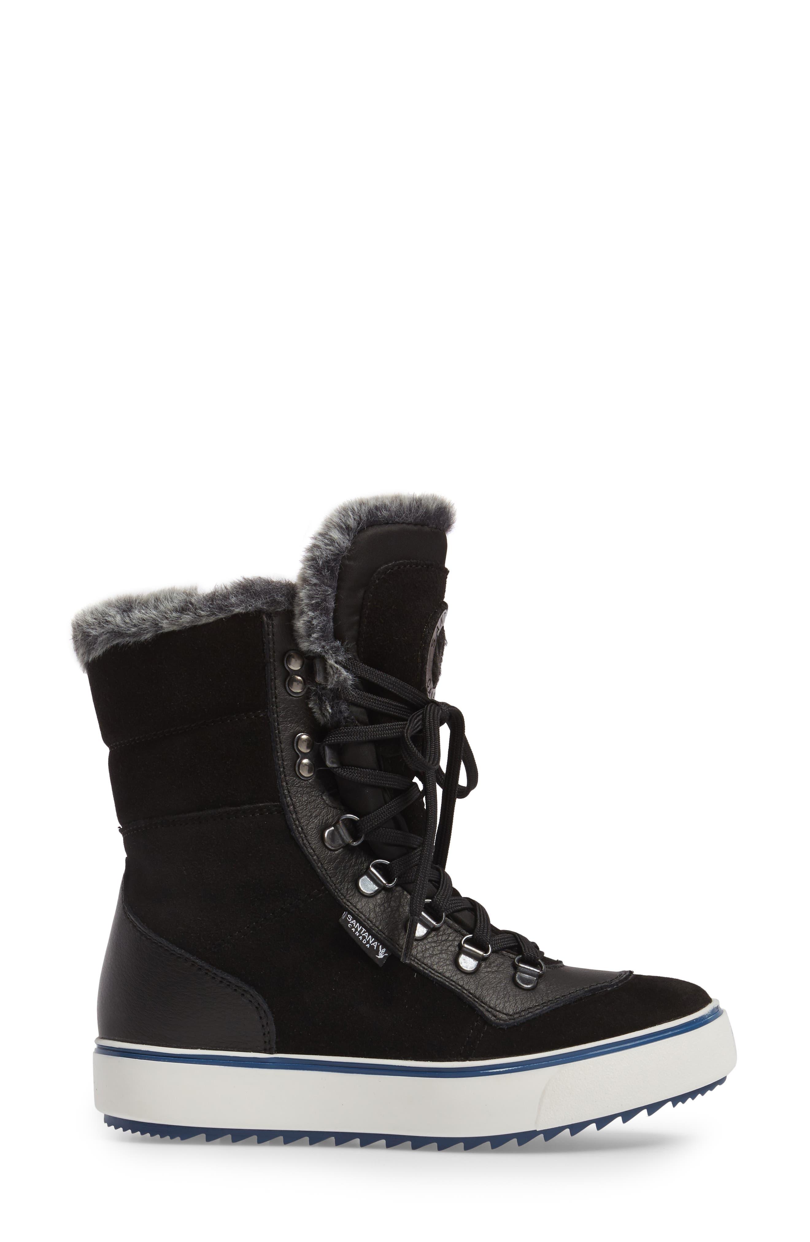 Mixx Faux Fur Waterproof Boot,                             Alternate thumbnail 8, color,