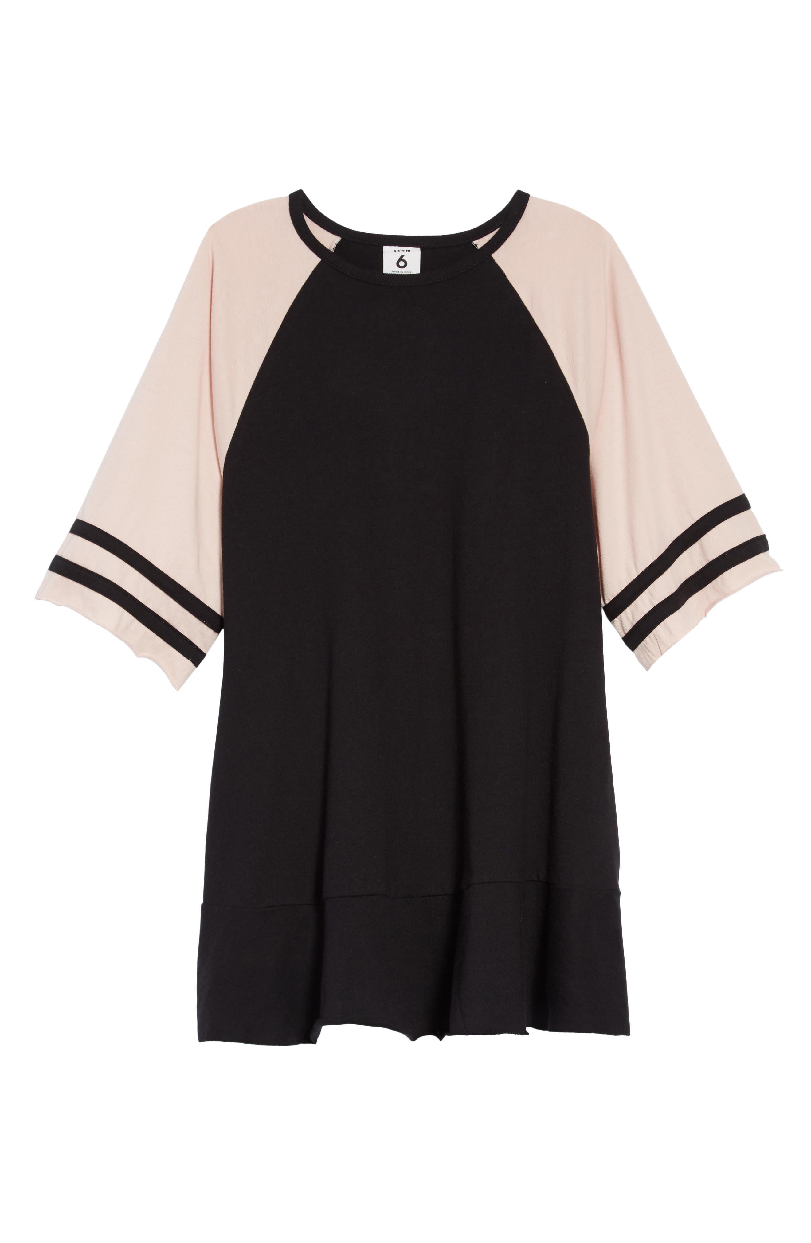 Varsity Dress,                             Main thumbnail 1, color,                             001