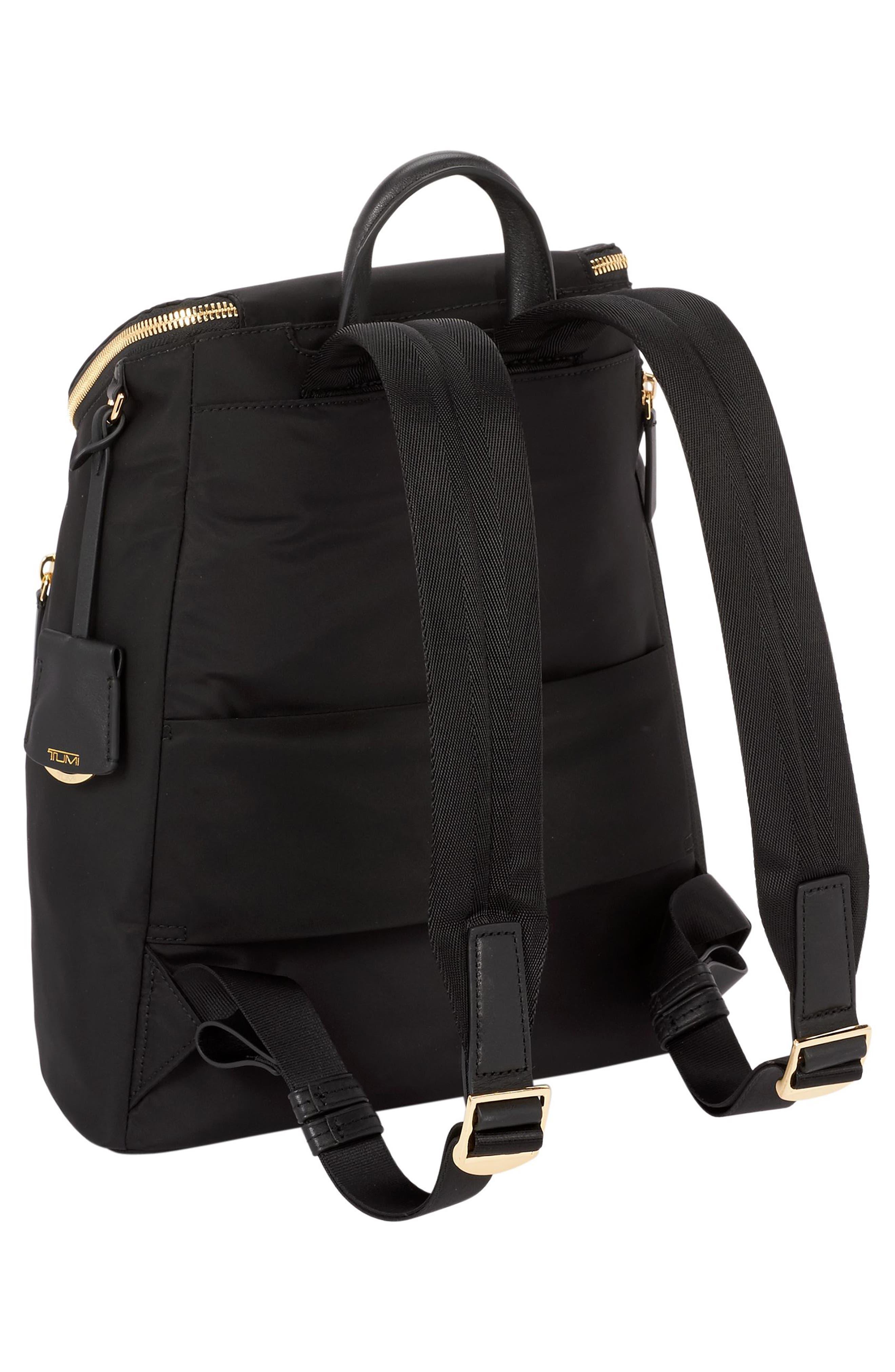 Voyageur Bryce Nylon Backpack,                             Alternate thumbnail 3, color,                             001