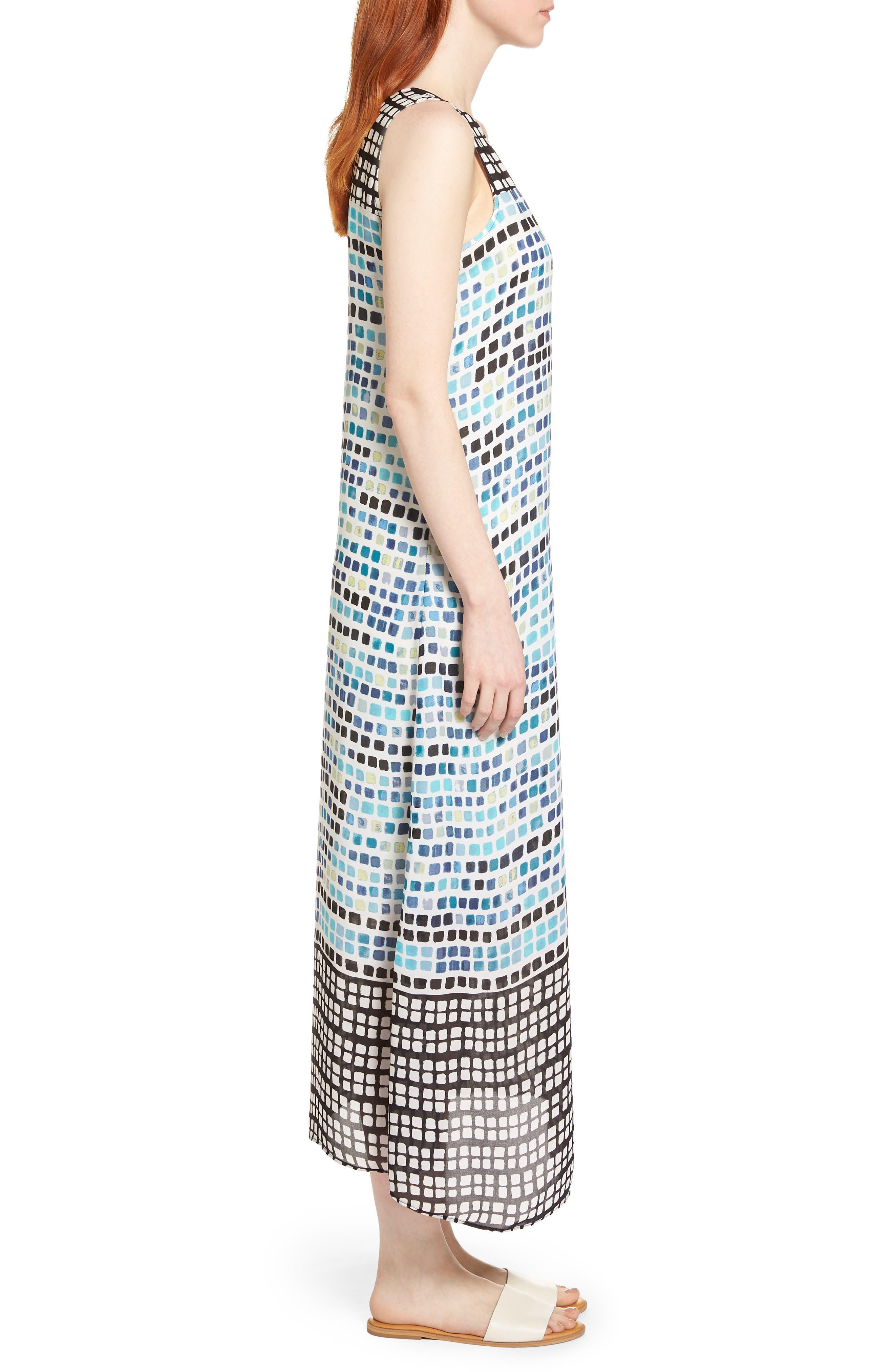 Color Wave Maxi Dress,                             Alternate thumbnail 3, color,