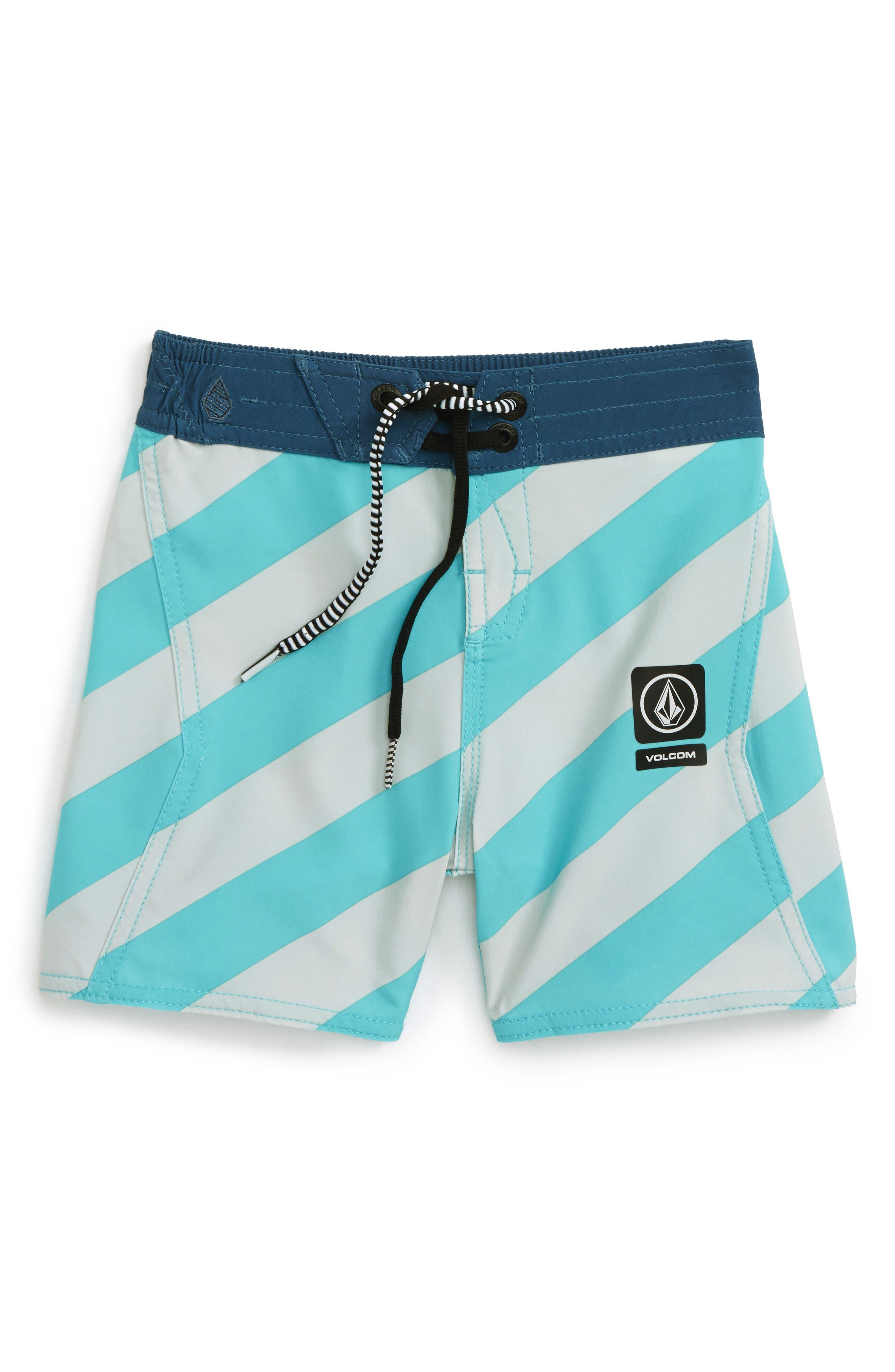 Stripey Jammer Board Shorts,                             Main thumbnail 1, color,                             440