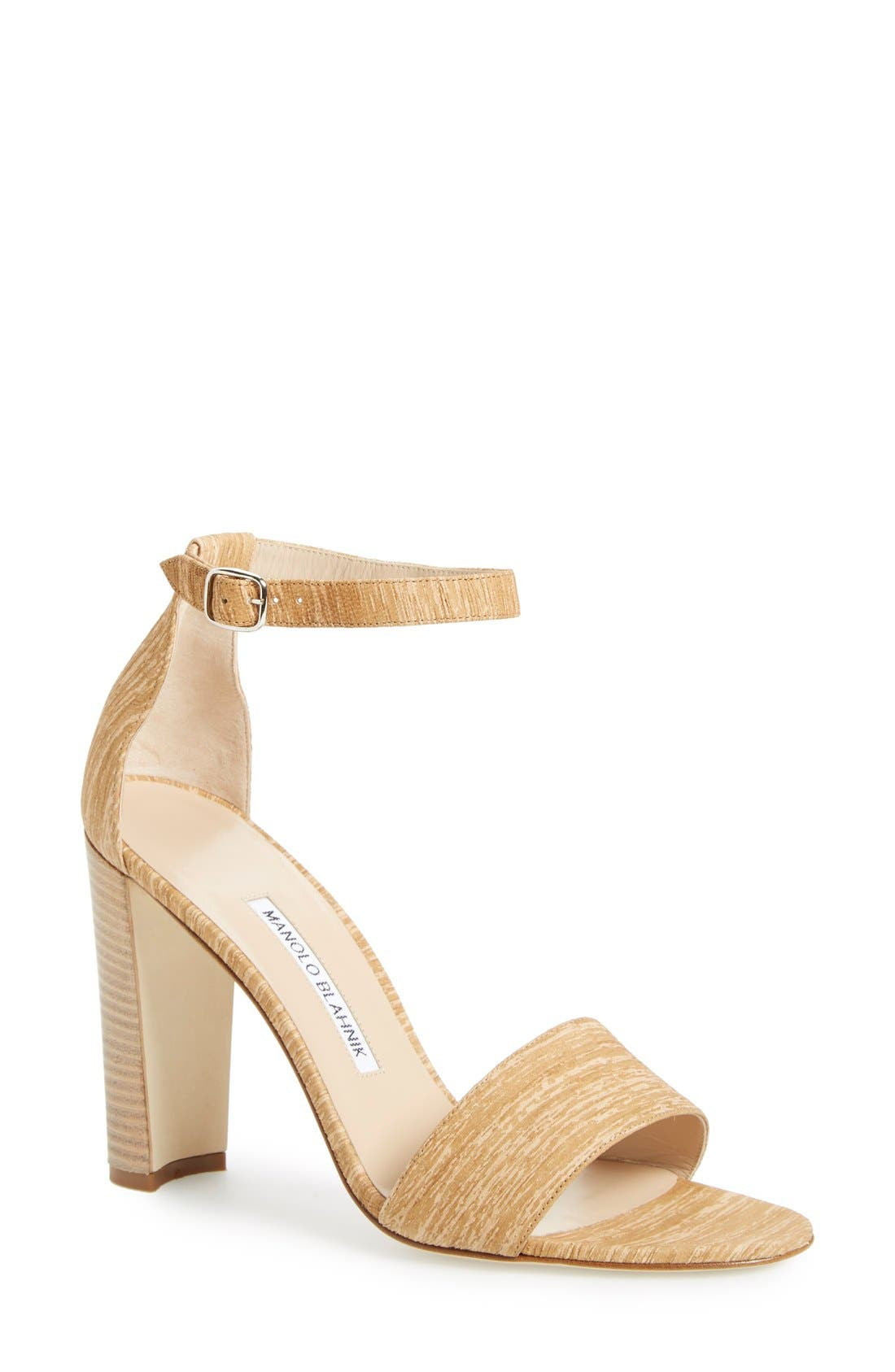 MANOLO BLAHNIK 'Lauratopri' Sandal, Main, color, 250