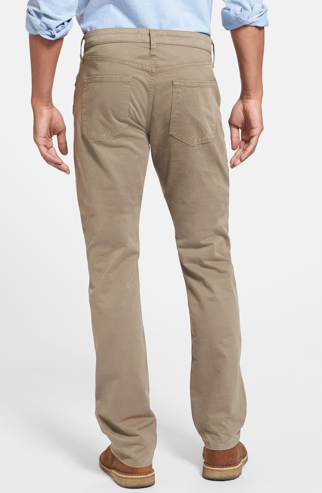 'Kane' Slim Fit Cotton Twill Pants,                             Alternate thumbnail 51, color,
