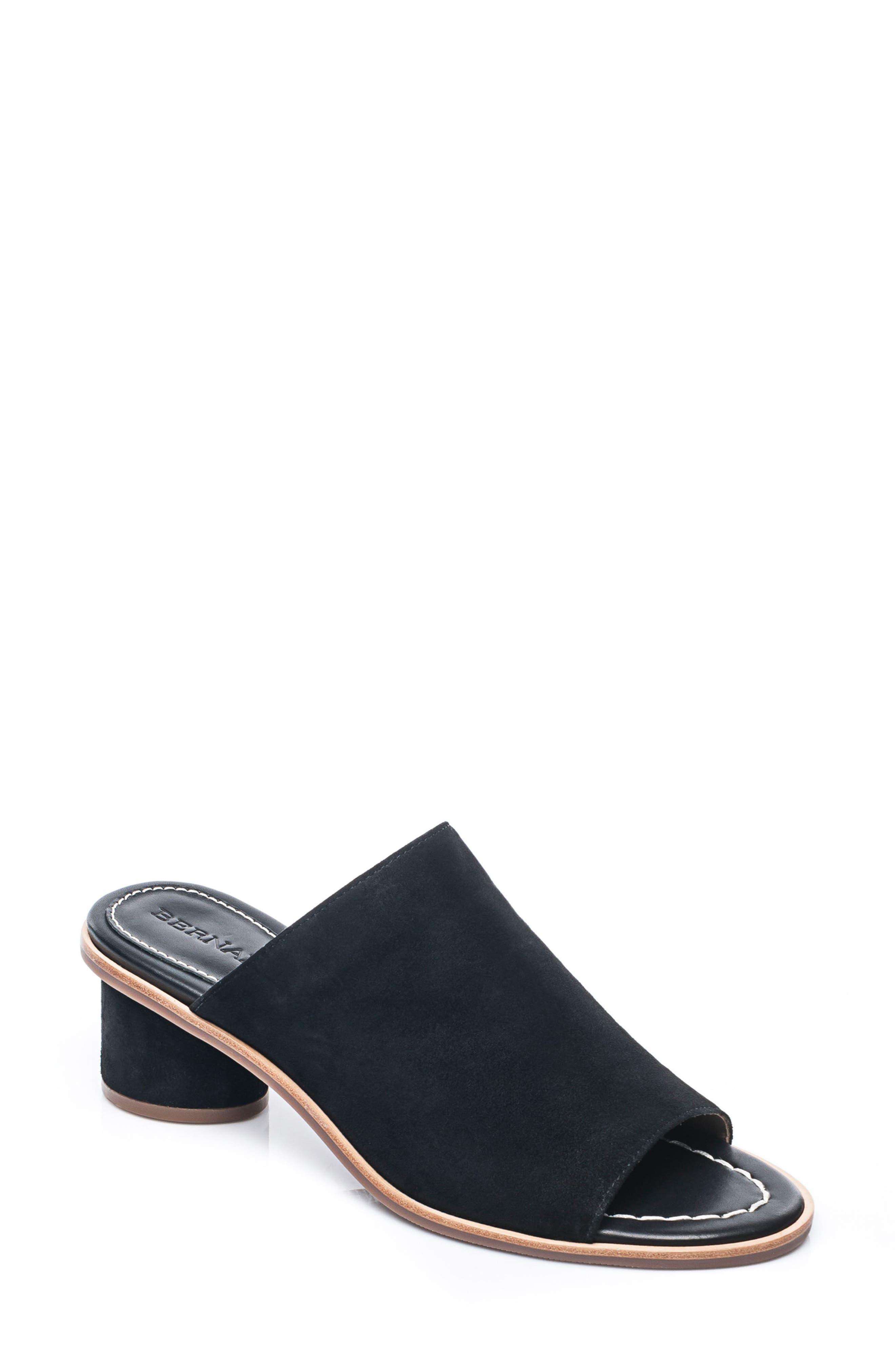 Bernardo Laurel Slide Sandal,                         Main,                         color, 001
