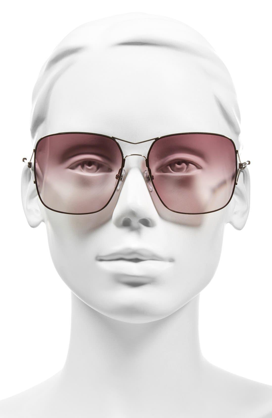 58mm Sunglasses,                             Alternate thumbnail 8, color,