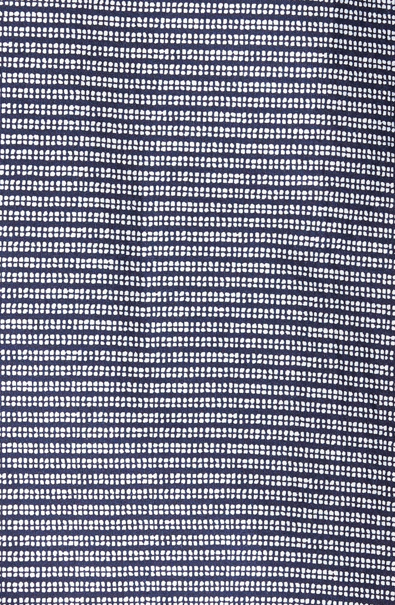 Lodi Stripe Sport Shirt,                             Alternate thumbnail 5, color,                             BLUE