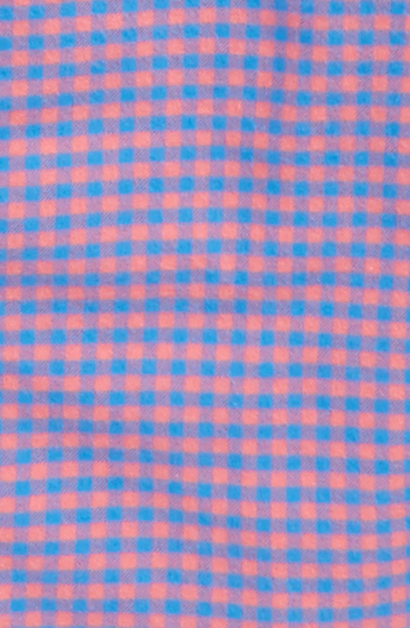 Sandy Point Plaid Whale Flannel Shirt,                             Alternate thumbnail 2, color,                             400