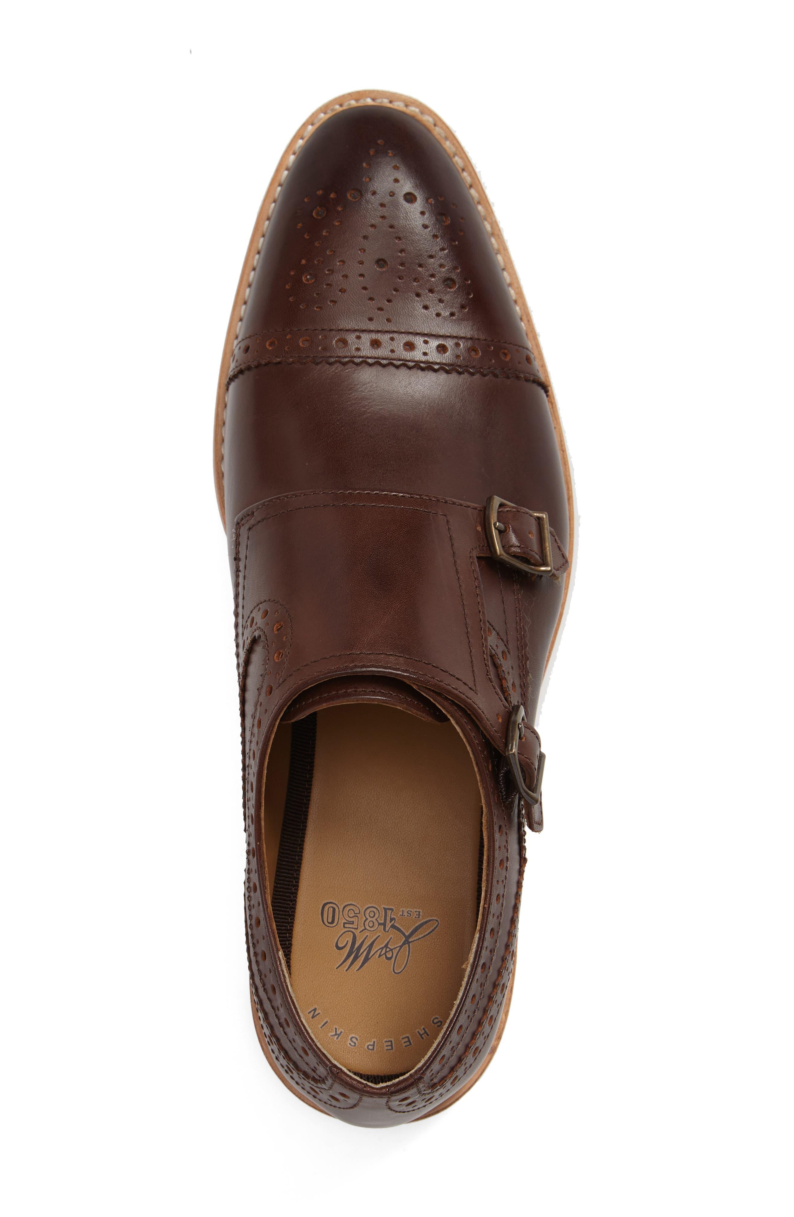 Vance Cap Toe Monk Shoe,                             Alternate thumbnail 3, color,