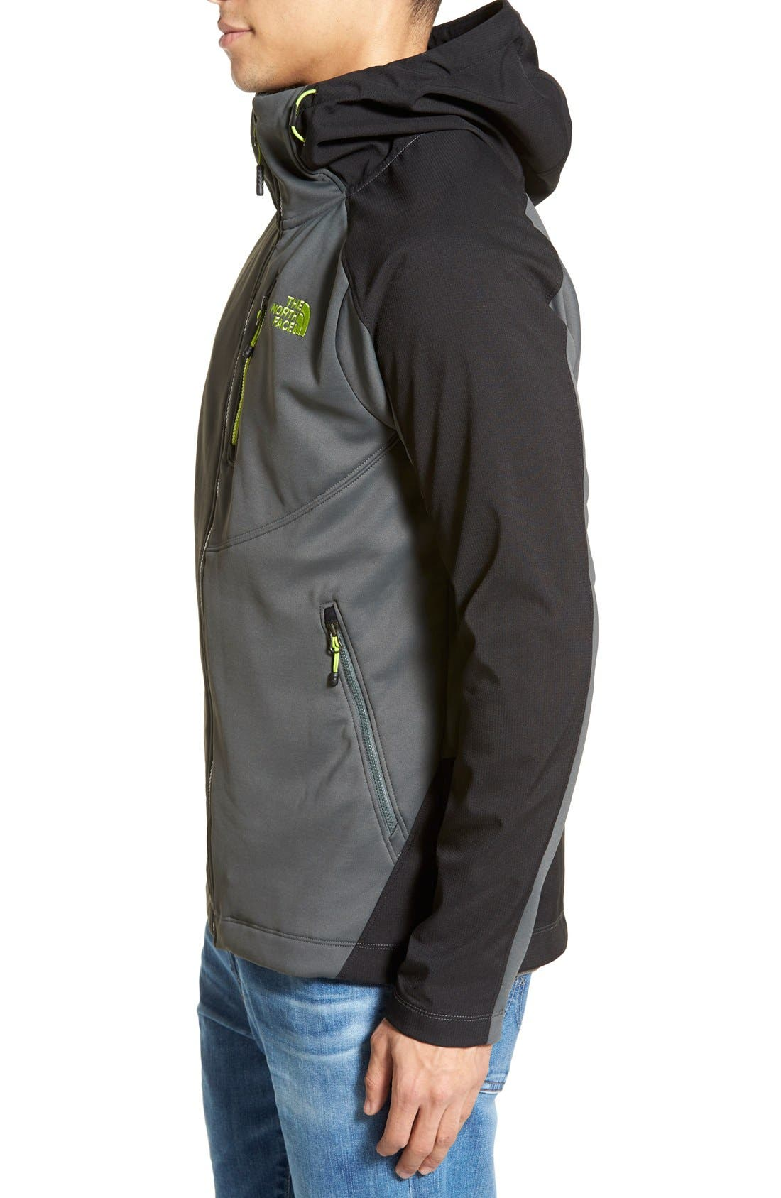 Tenacious Active Fit Hooded Jacket,                             Alternate thumbnail 14, color,