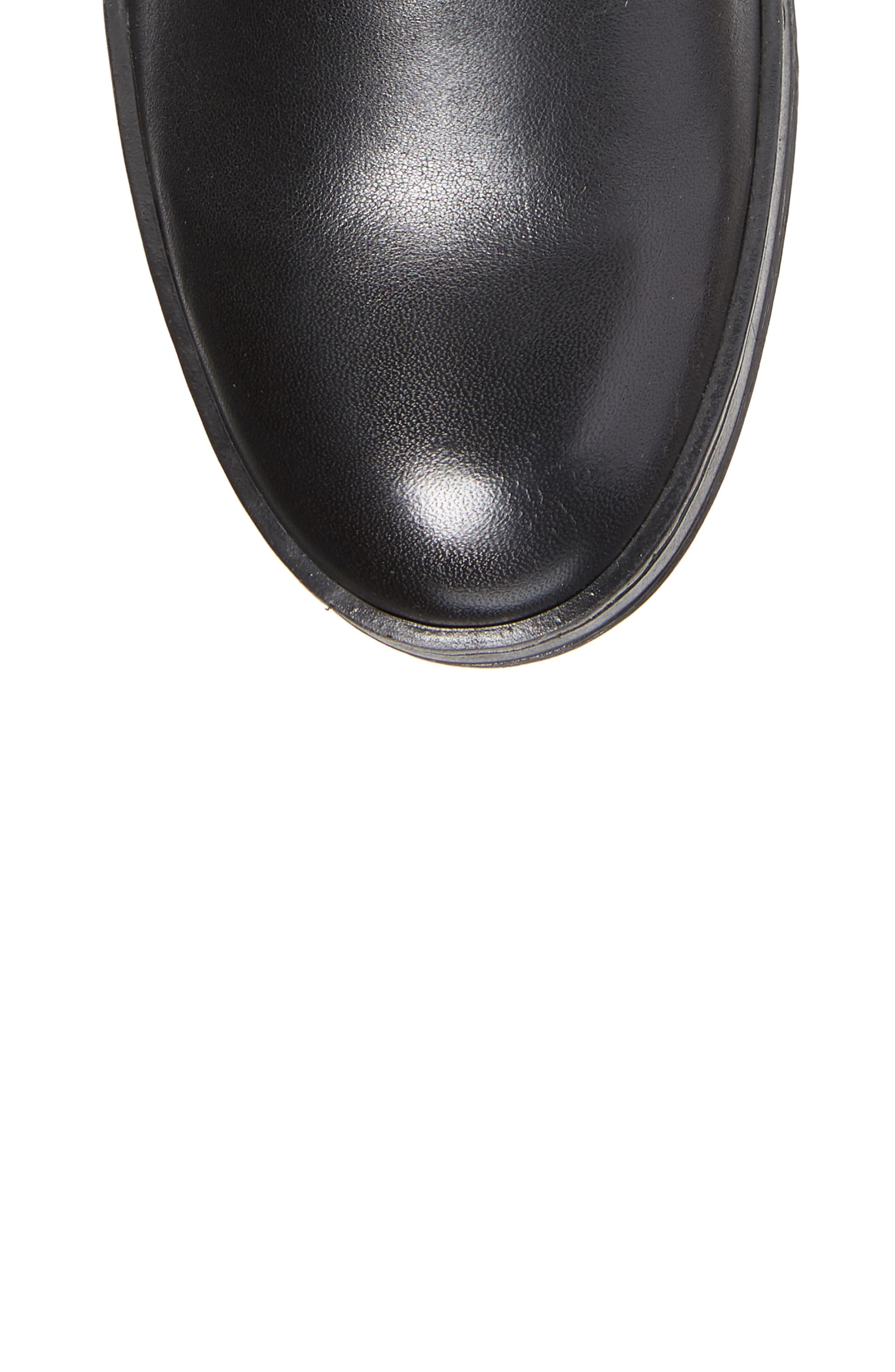 Chom Tall Boot,                             Alternate thumbnail 5, color,                             BLACK