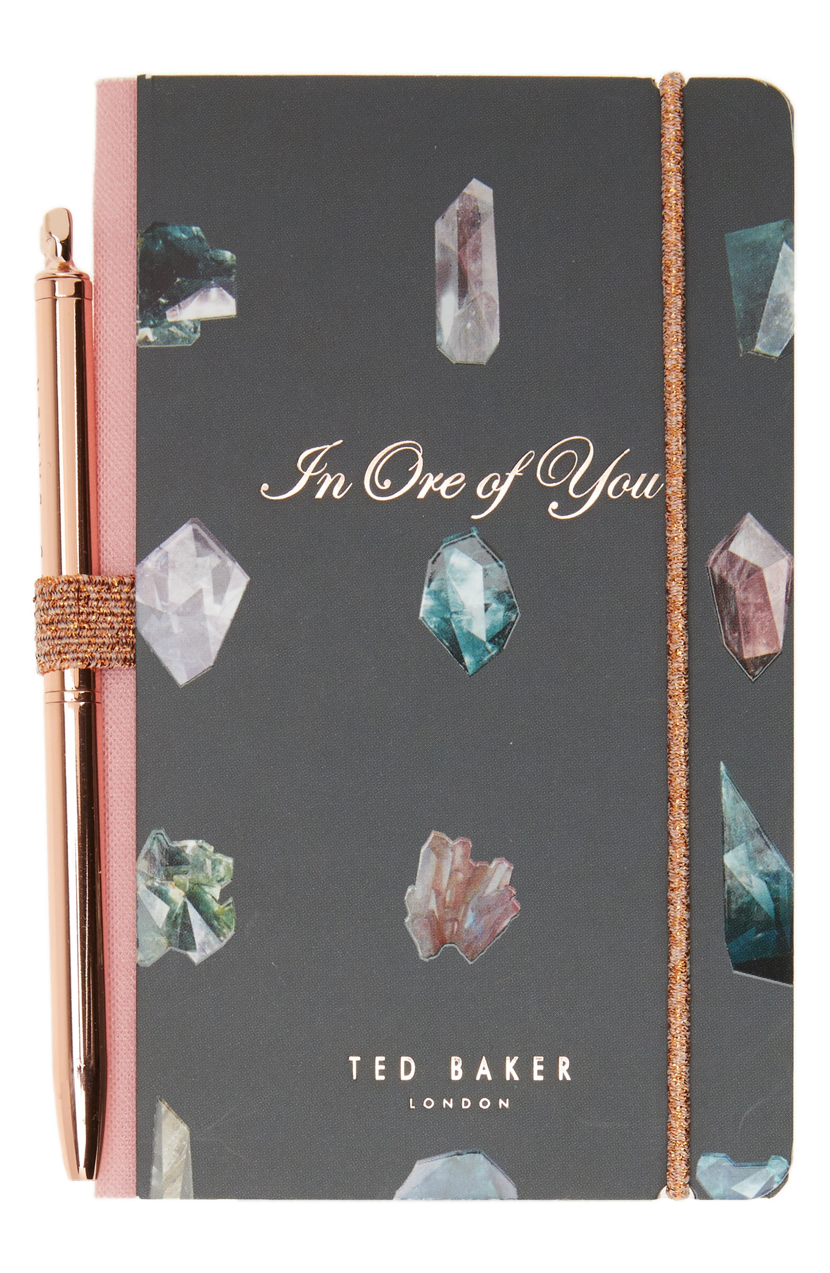 Mini Notebook & Pen Set,                         Main,                         color, 001