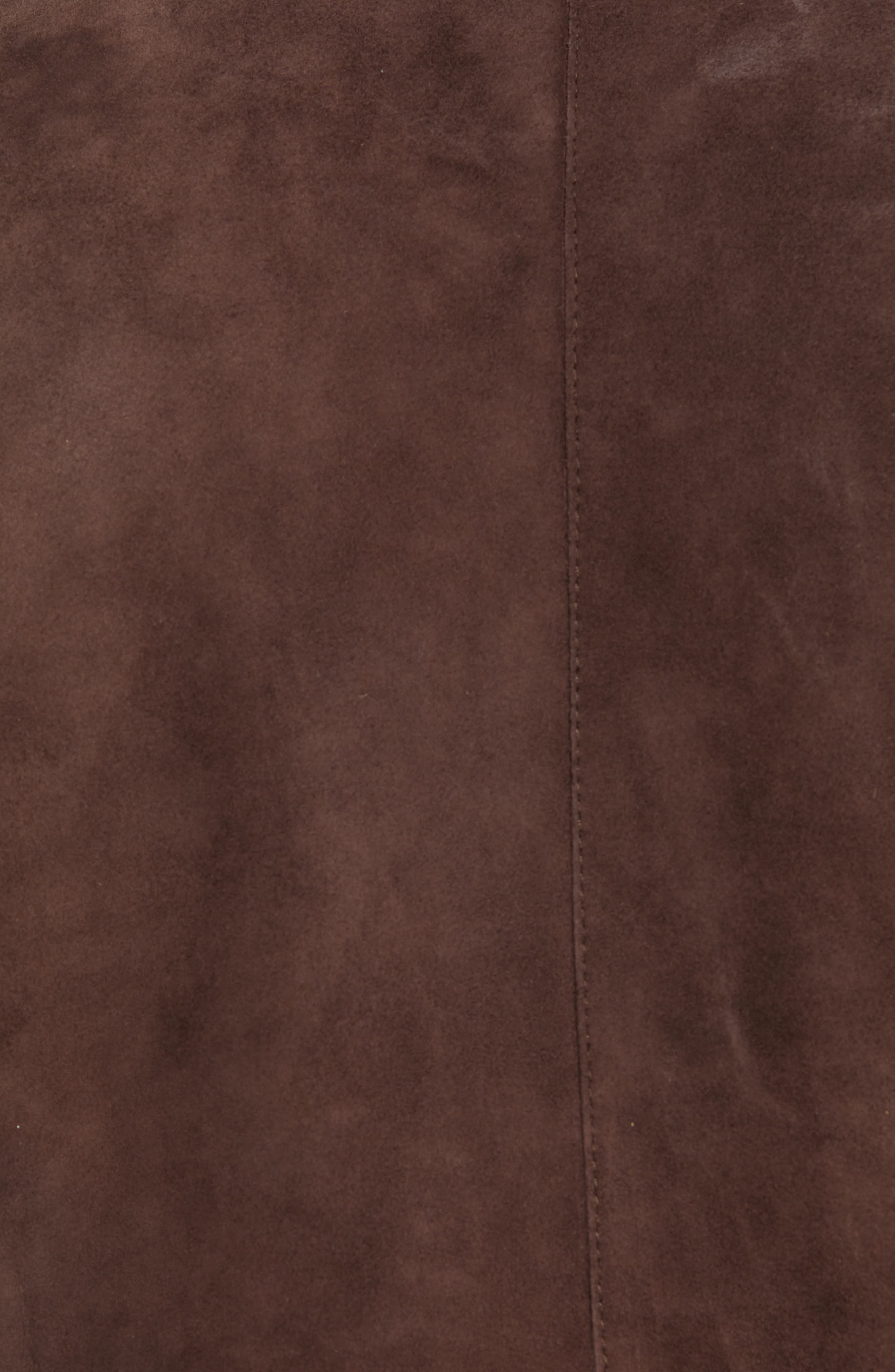 T-Nalok Suede Jacket,                             Alternate thumbnail 6, color,                             202