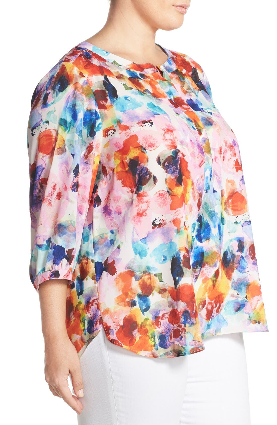 Henley Top,                             Alternate thumbnail 250, color,
