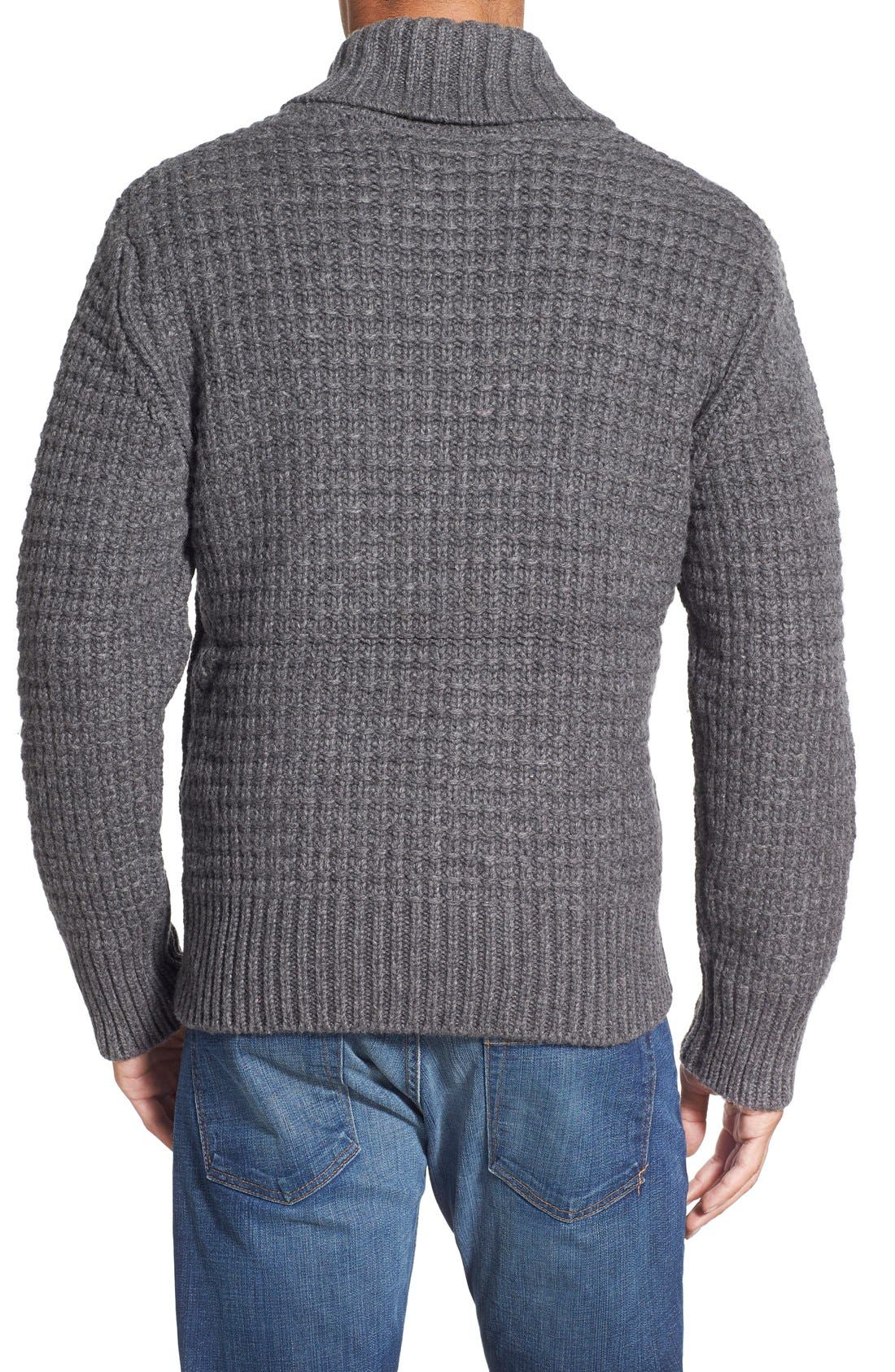 Shawl Collar Knit Pullover,                             Alternate thumbnail 5, color,