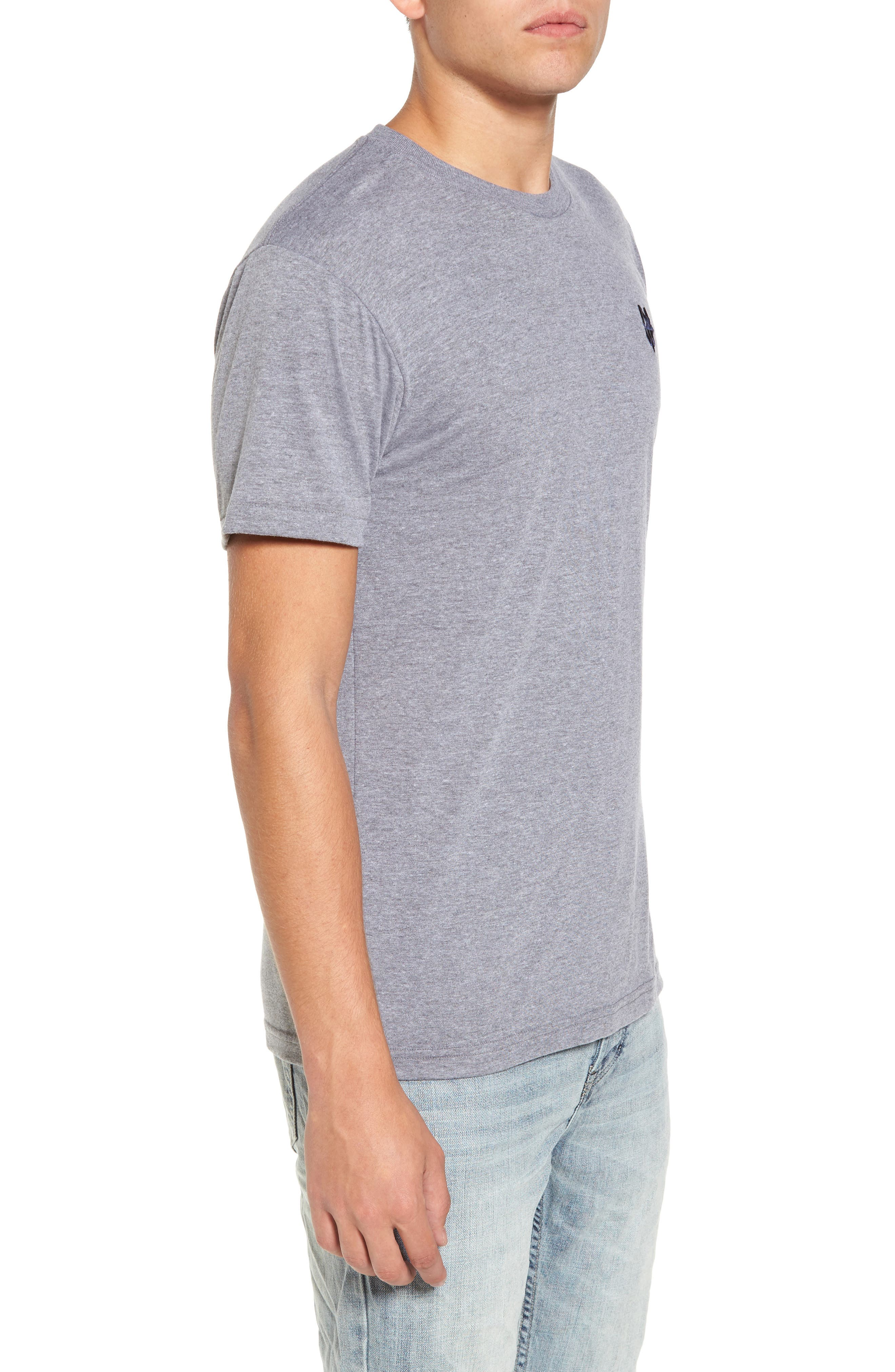 NW Trident Embroidered T-Shirt,                             Alternate thumbnail 8, color,