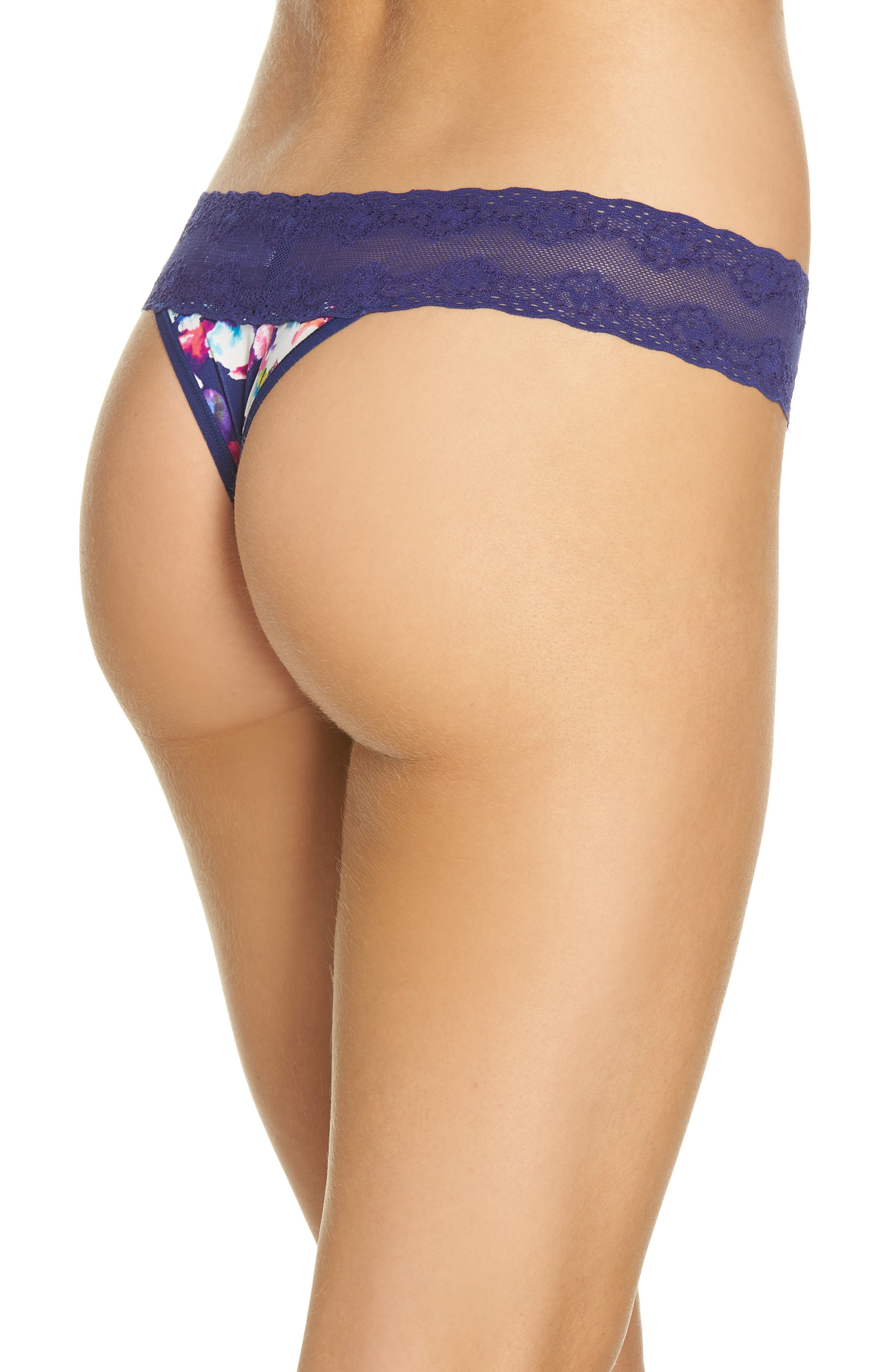 Bliss Perfection Thong,                             Alternate thumbnail 110, color,