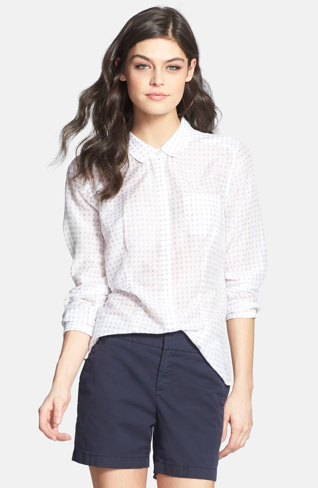 Cotton & Silk Shirt,                             Main thumbnail 15, color,