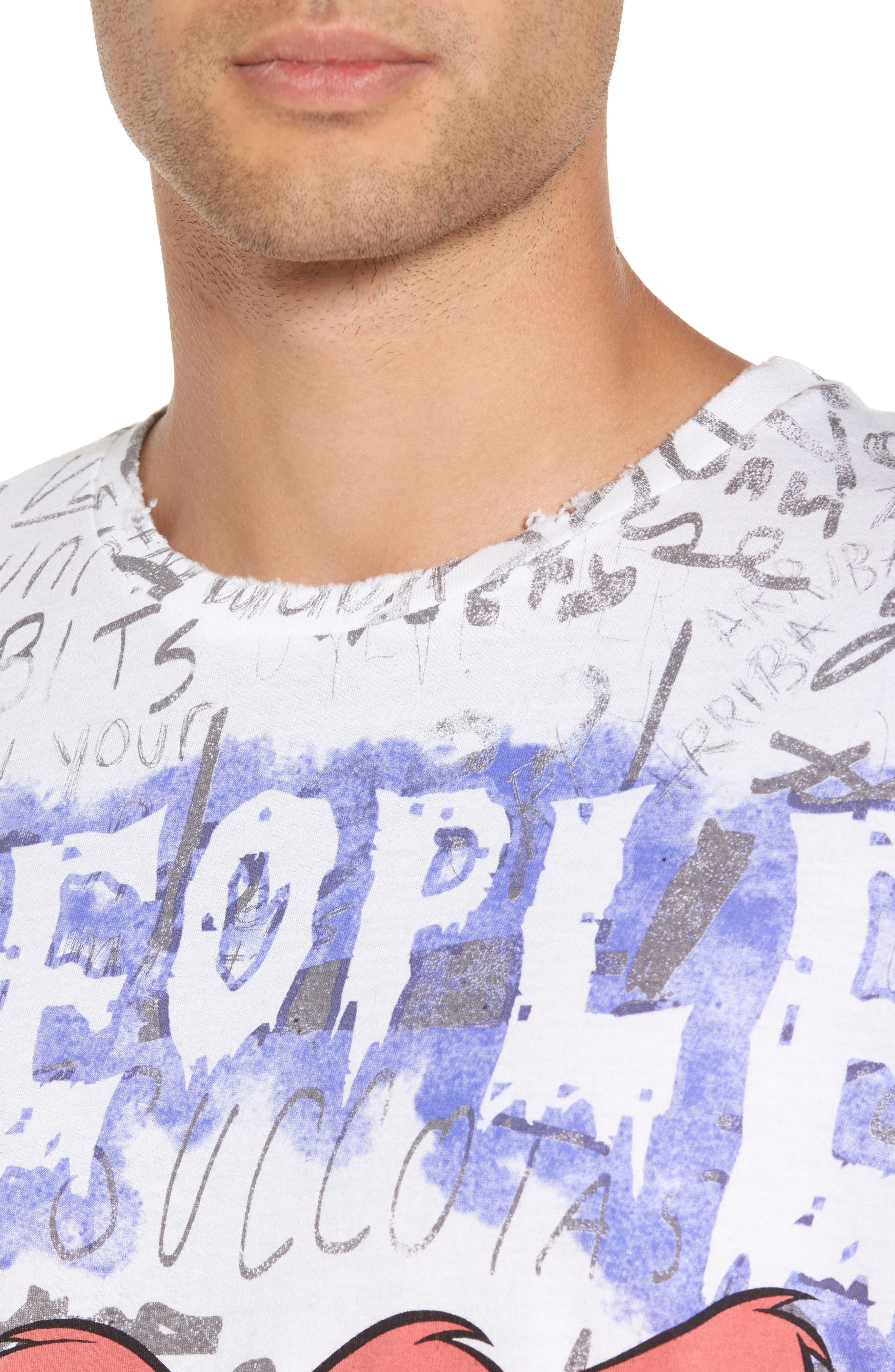 Doomer T-Shirt,                             Alternate thumbnail 4, color,                             110
