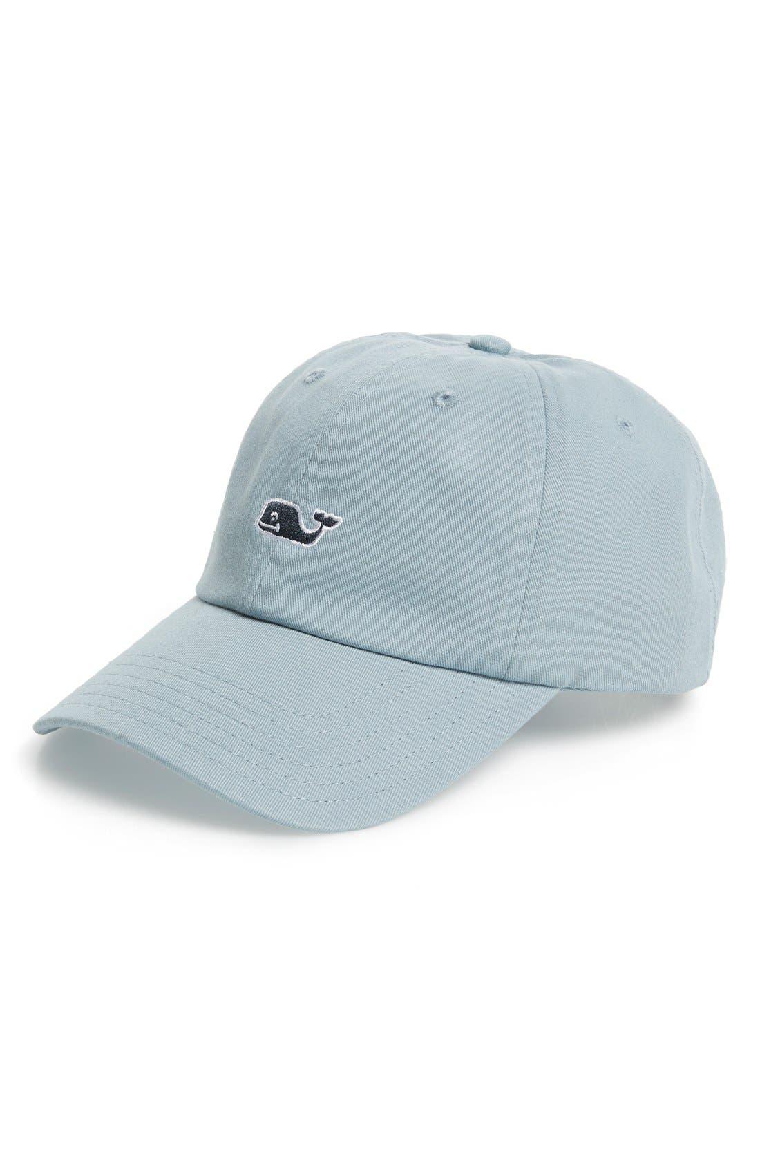 VINEYARD VINES Whale Logo Cap, Main, color, 034