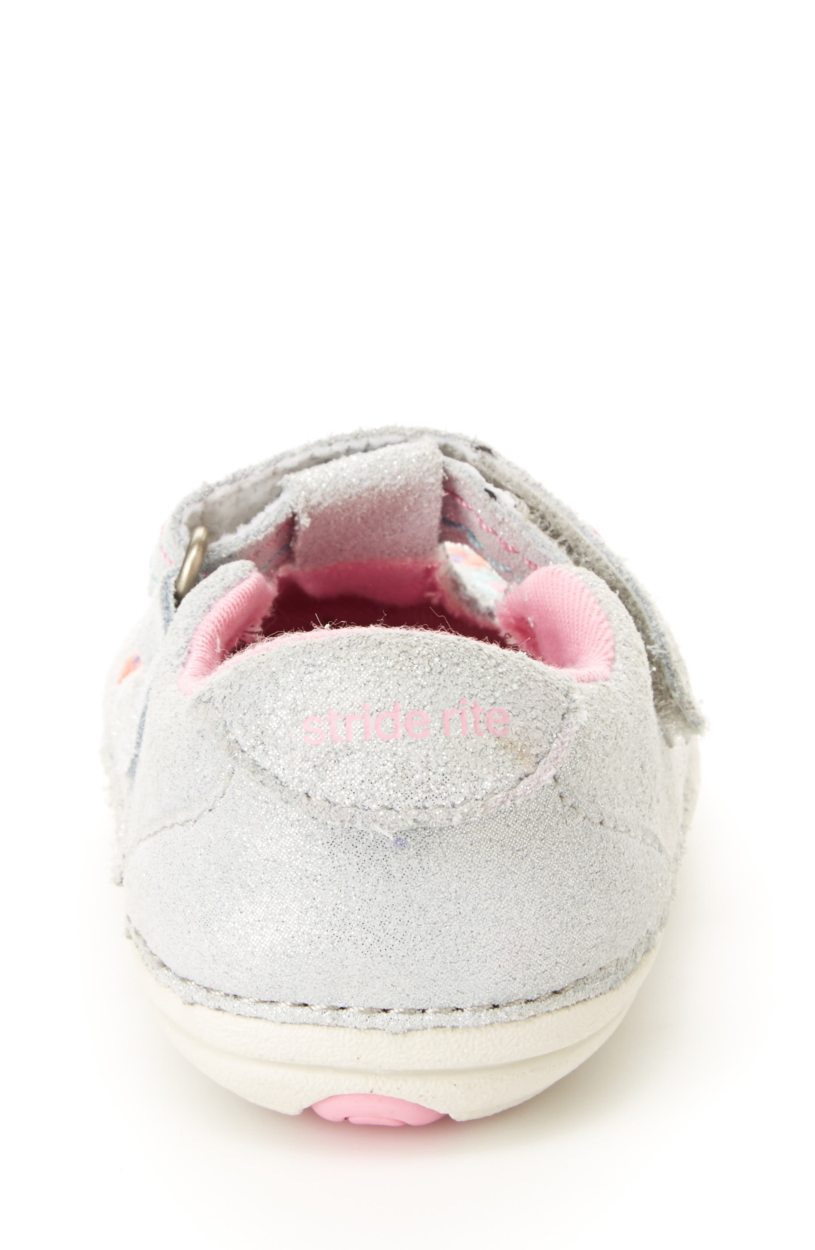 Soft Motion<sup>™</sup> Tonia T-Strap Mary Jane,                             Alternate thumbnail 6, color,                             SILVER