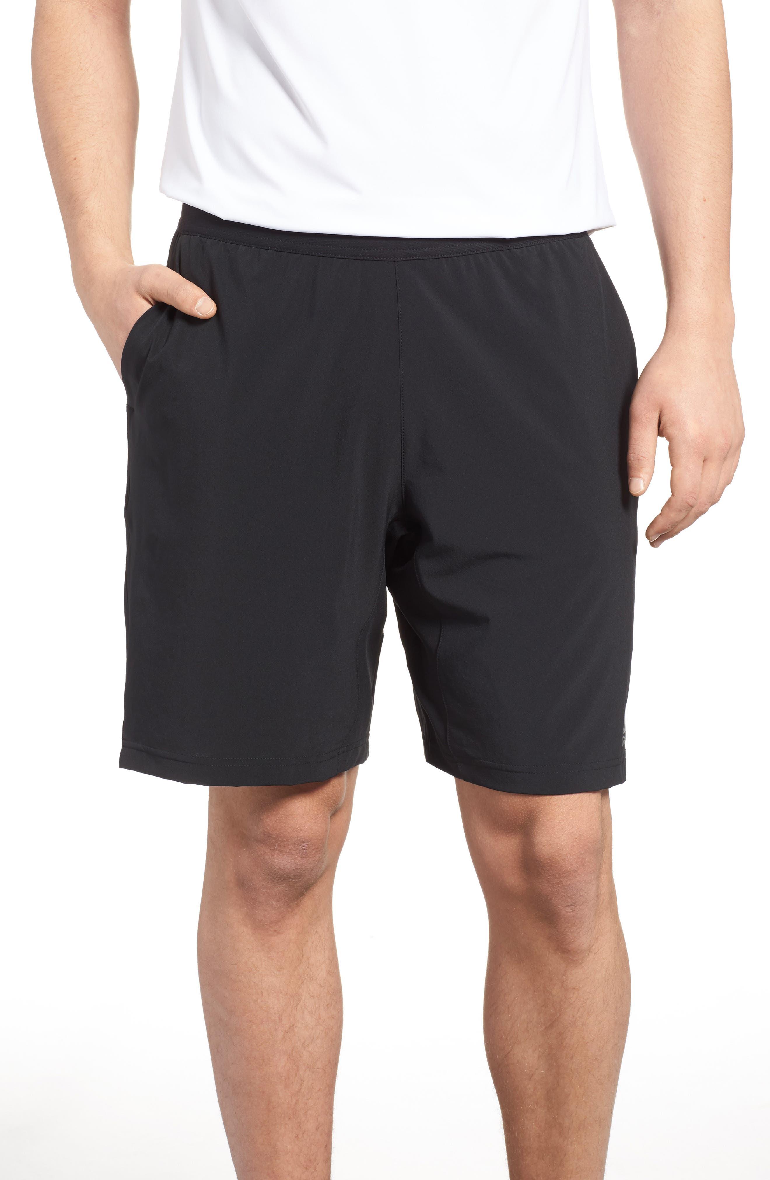Speedwick Speed Training Shorts,                             Main thumbnail 1, color,                             BLACK