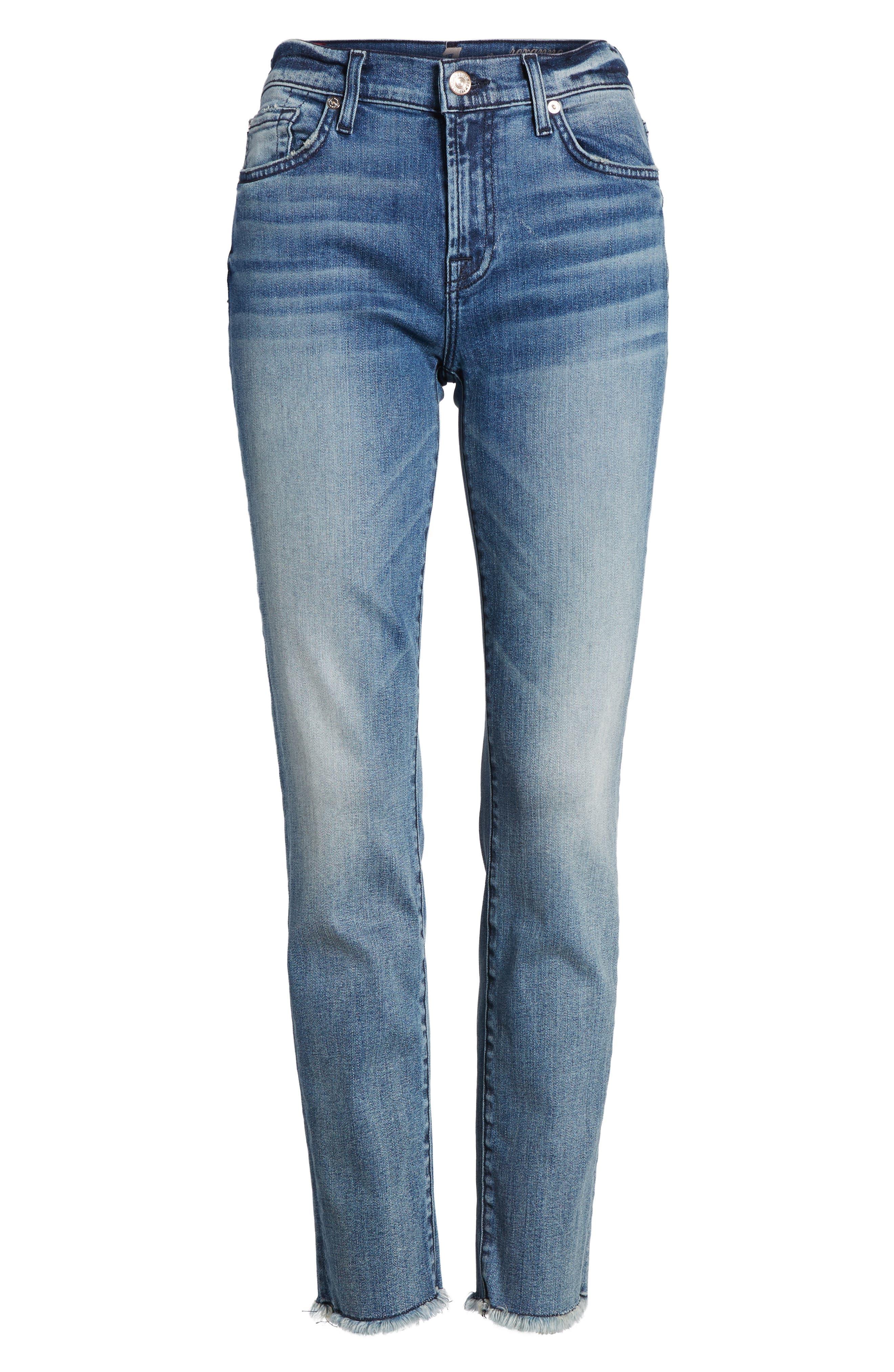Roxanne Ankle Straight Leg Jeans,                             Alternate thumbnail 6, color,