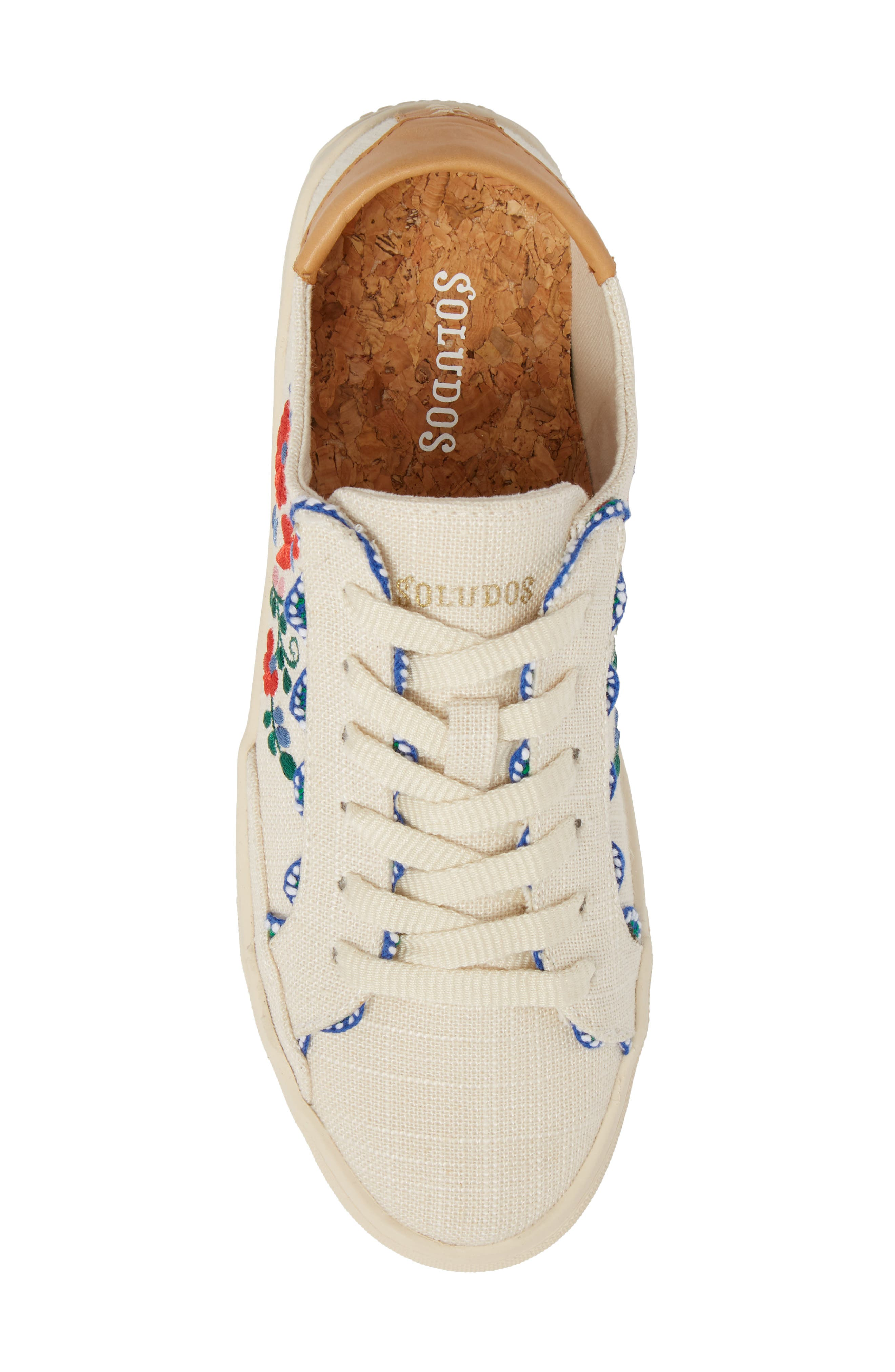 Ibiza Embroidered Sneaker,                             Alternate thumbnail 5, color,                             680