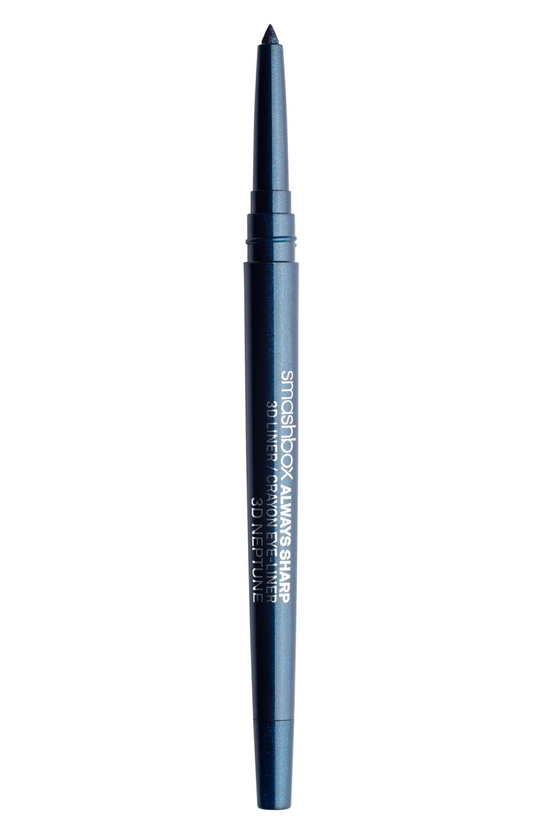 Always Sharp 3D Eyeliner,                             Main thumbnail 1, color,                             3D NEPTUNE