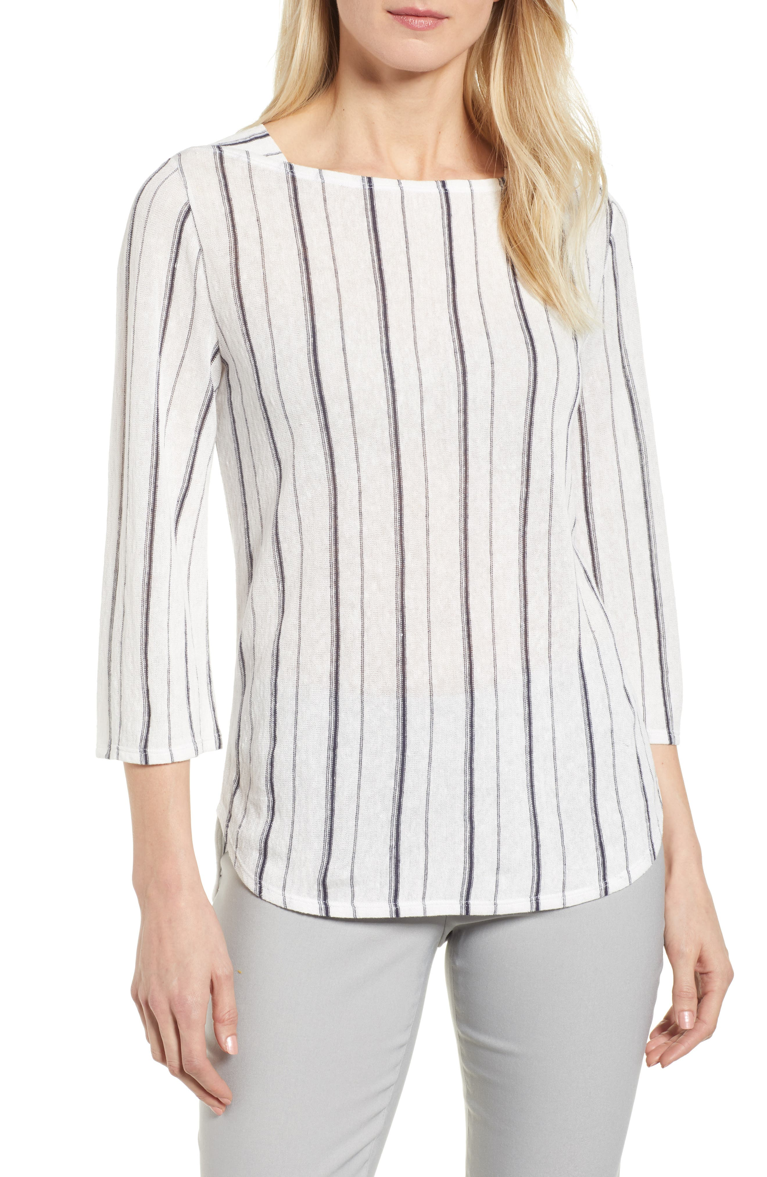 In Motion Stripe Top,                         Main,                         color, 190