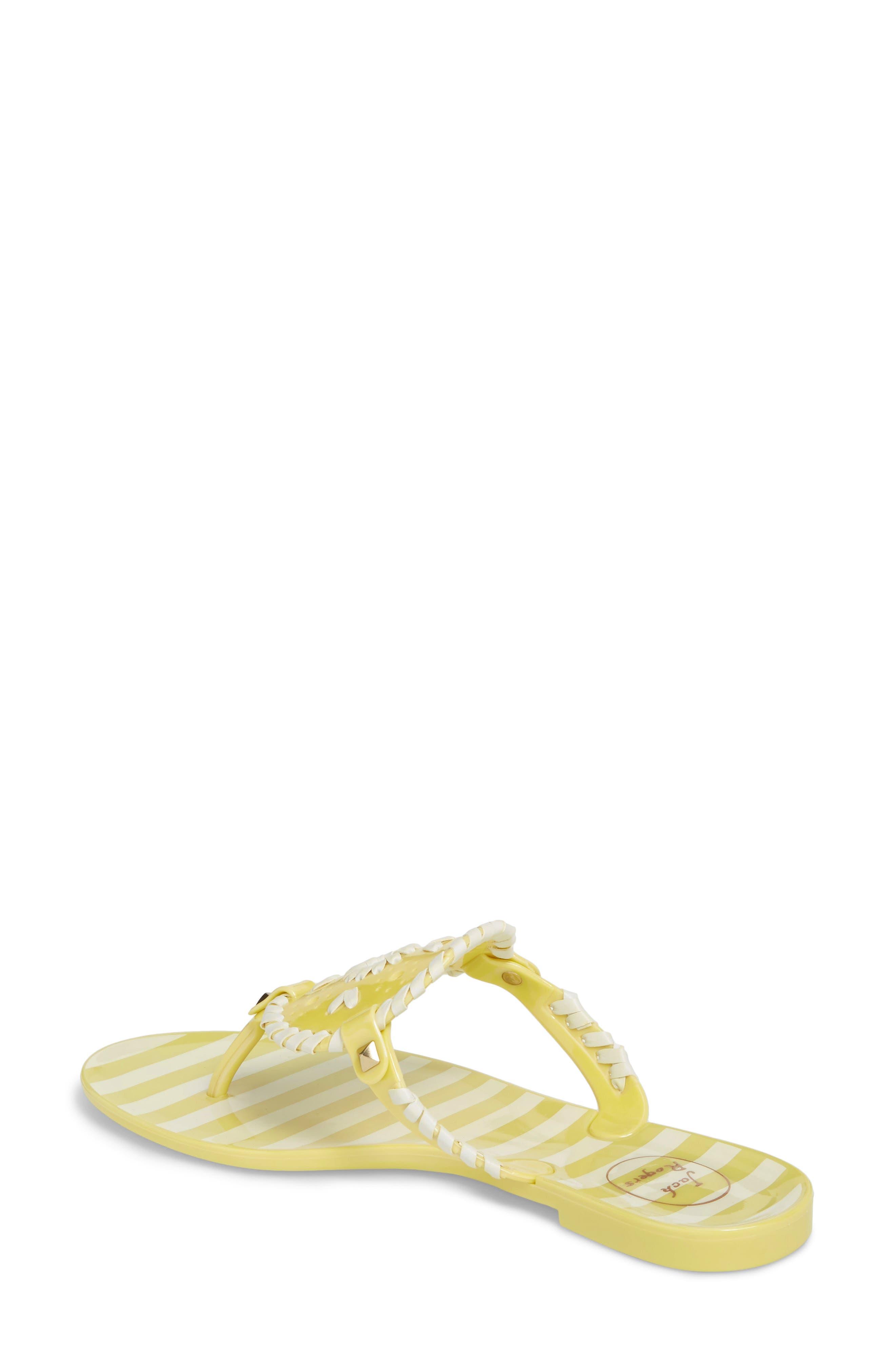 'Georgica' Jelly Flip Flop,                             Alternate thumbnail 48, color,