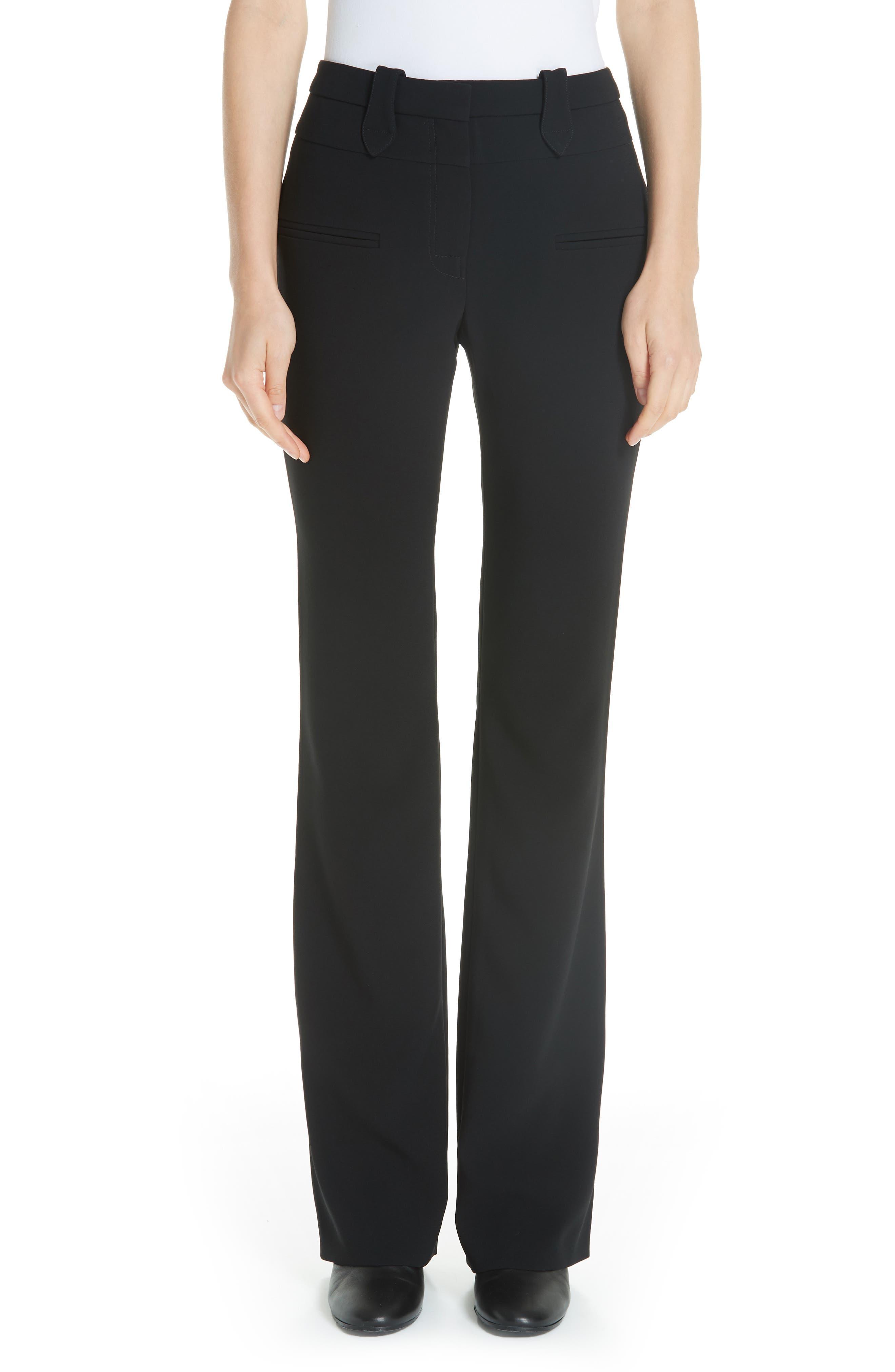 Serge Slim Pants,                         Main,                         color, BLACK