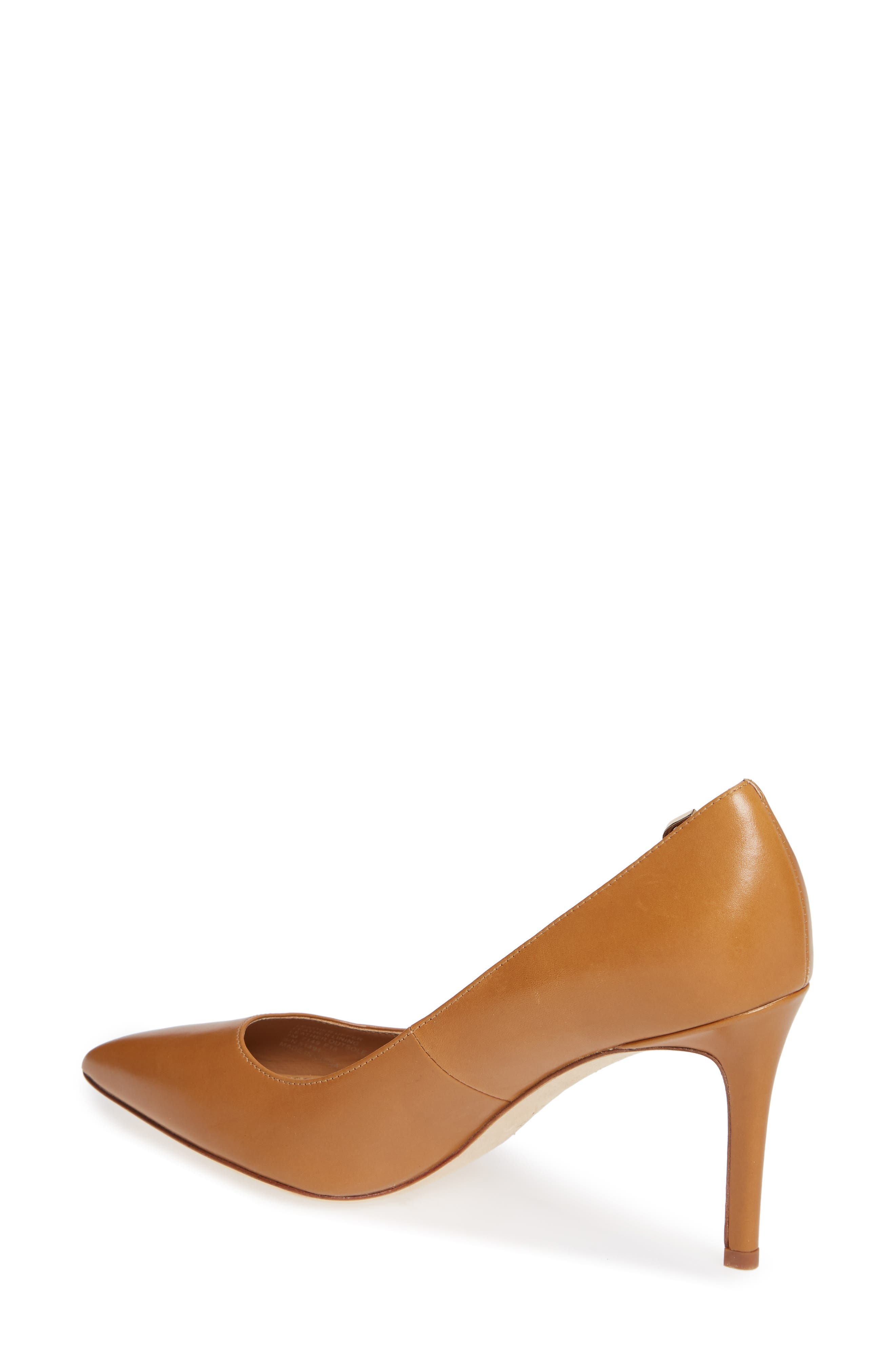 Elizabeth Pointy Toe Pump,                             Alternate thumbnail 2, color,                             DEEP VICUNA