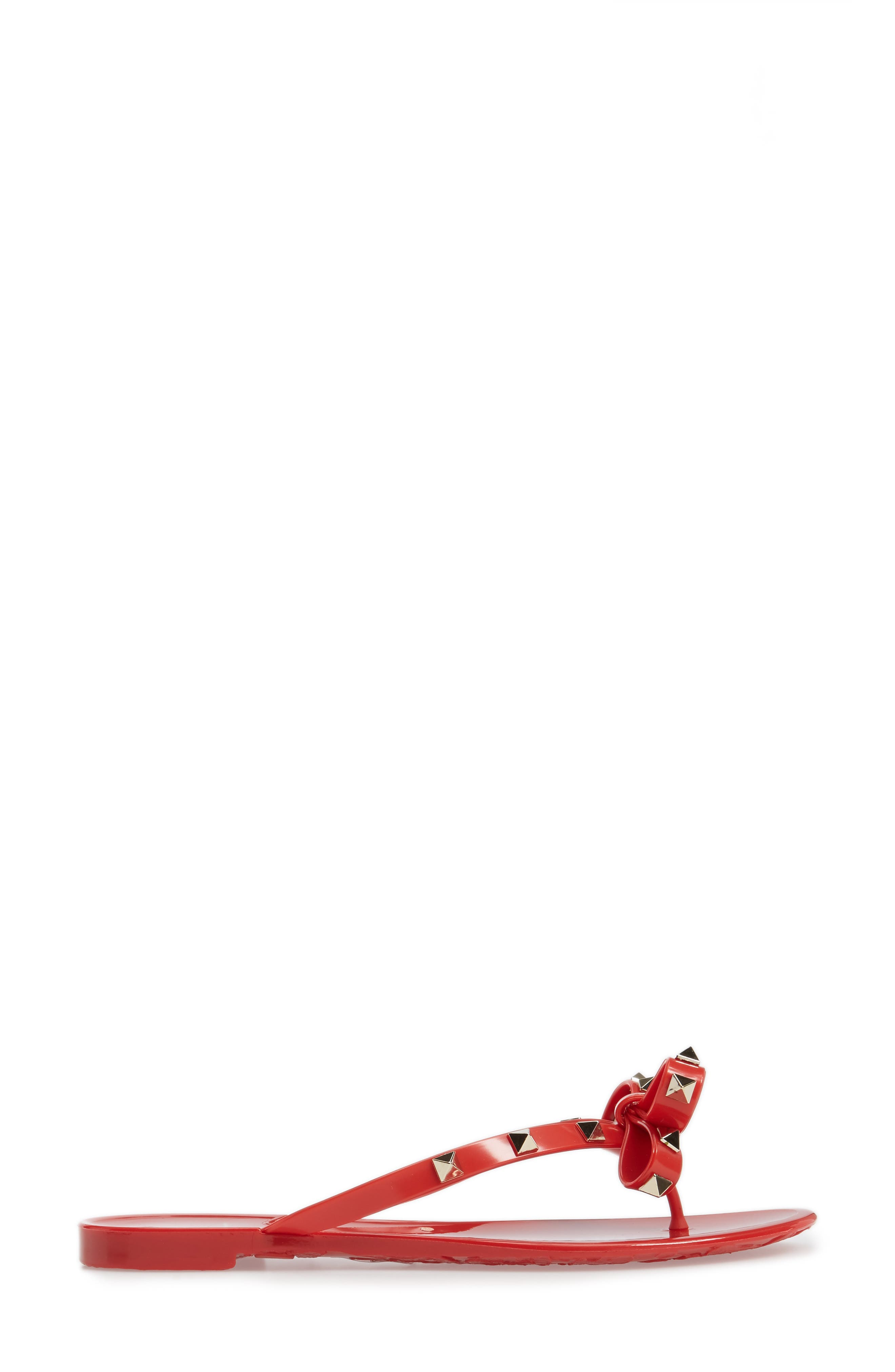 'Rockstud' Flip Flop,                             Alternate thumbnail 80, color,