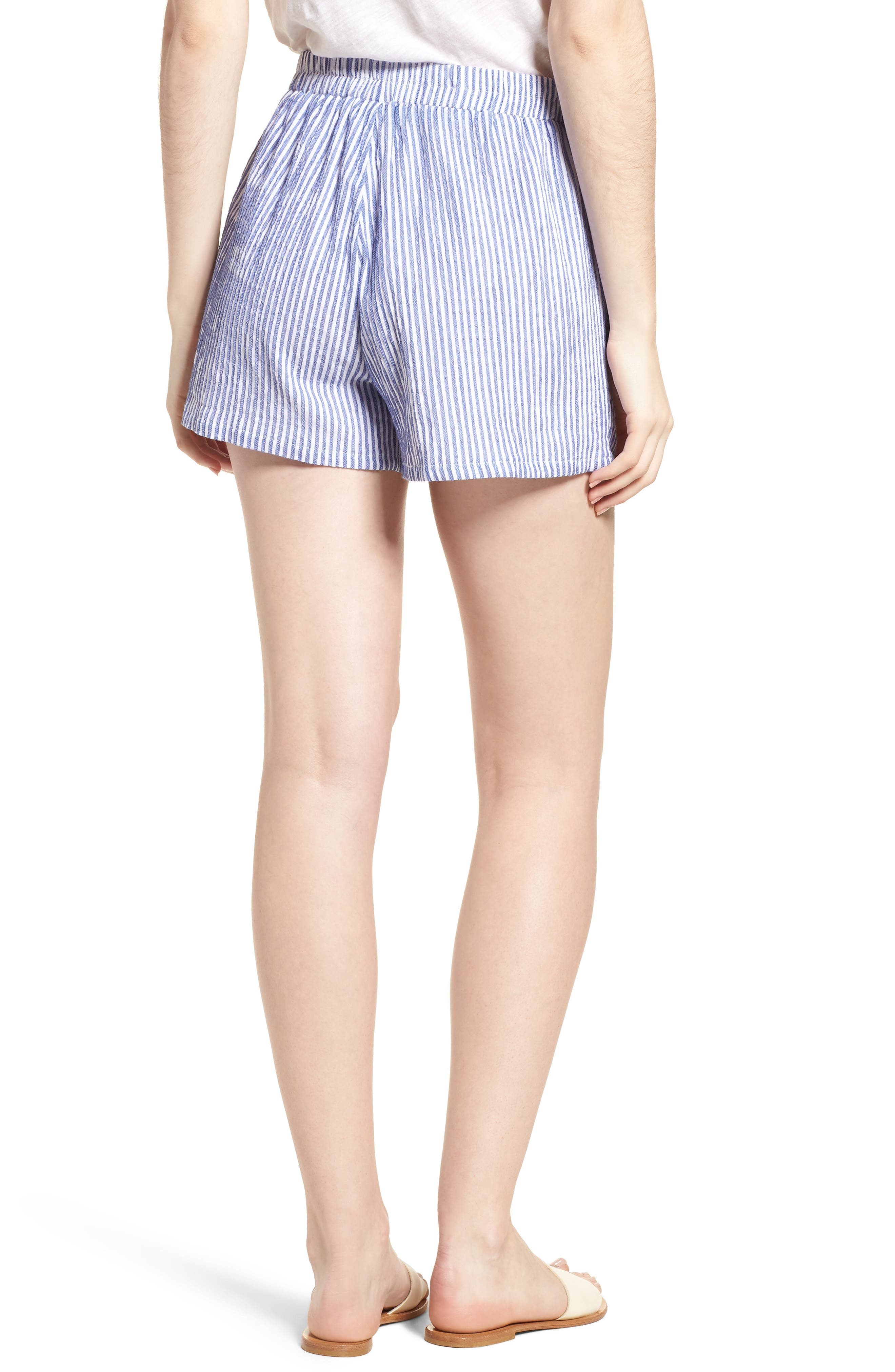 BISHOP + YOUNG,                             Stripe Shorts,                             Alternate thumbnail 2, color,                             400