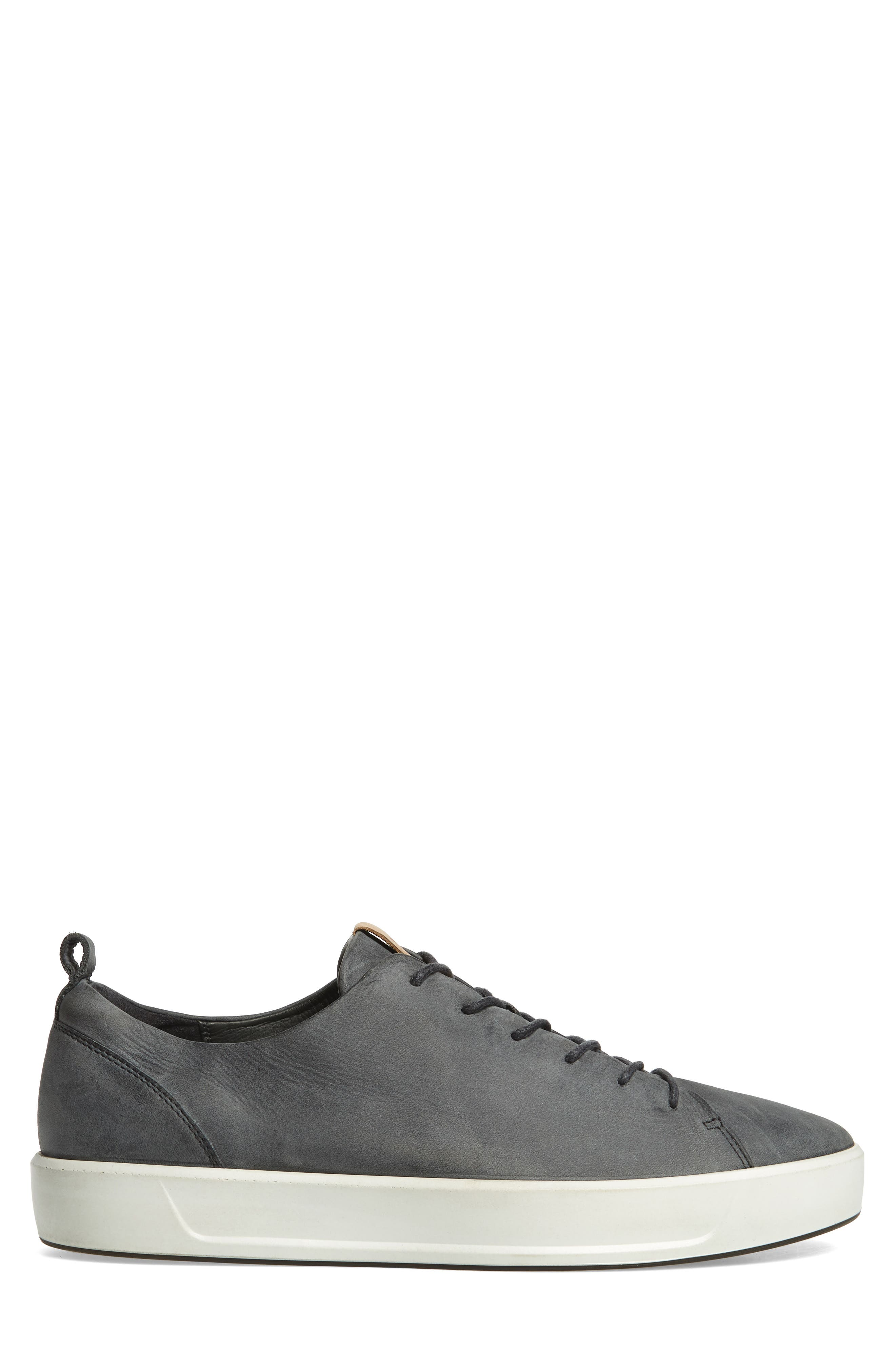 Soft 8 Sneaker,                             Alternate thumbnail 3, color,                             DARK SHADOW LEATHER