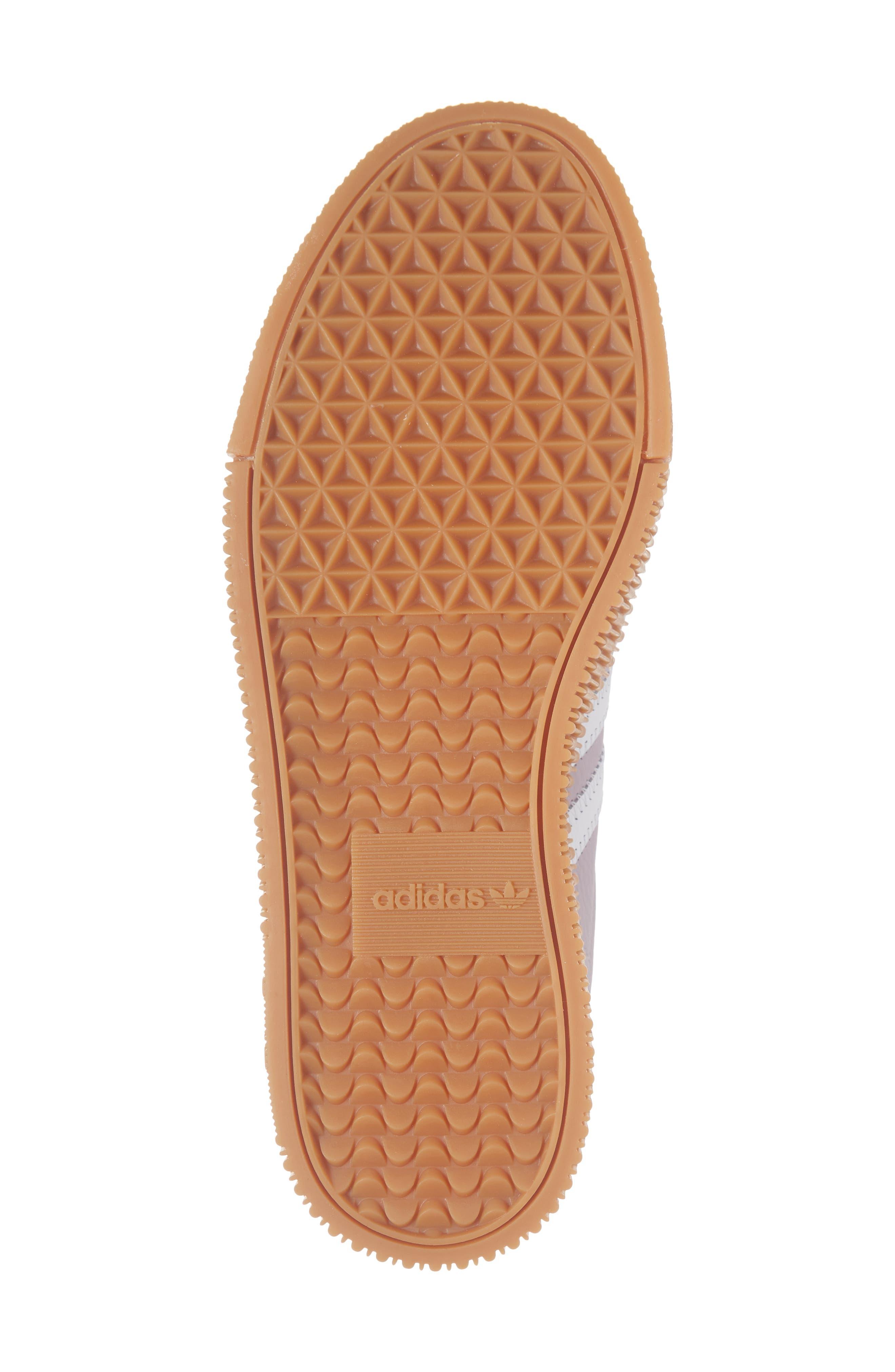 ADIDAS,                             Samba Rose Sneaker,                             Alternate thumbnail 6, color,                             SOFT VISION/ WHITE/ GUM