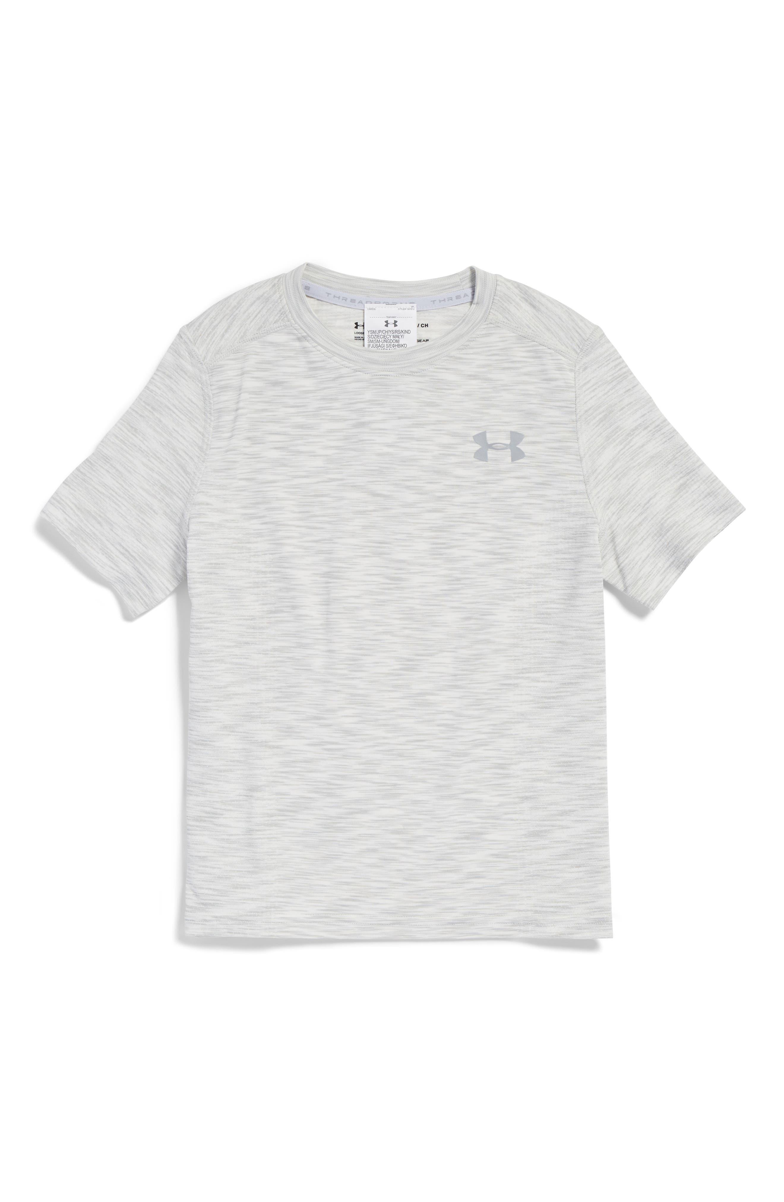 Threadborne HeatGear<sup>®</sup> Shirt,                             Main thumbnail 2, color,