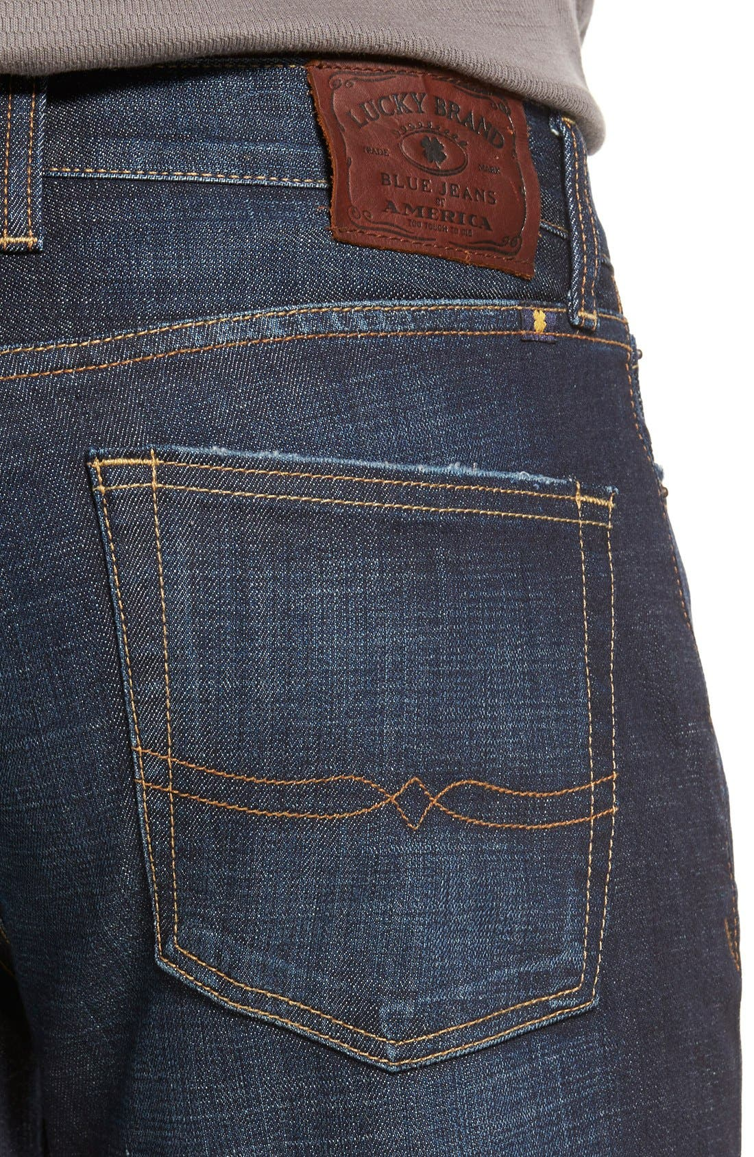'361 Vintage' Straight Leg Jeans,                             Alternate thumbnail 4, color,                             410