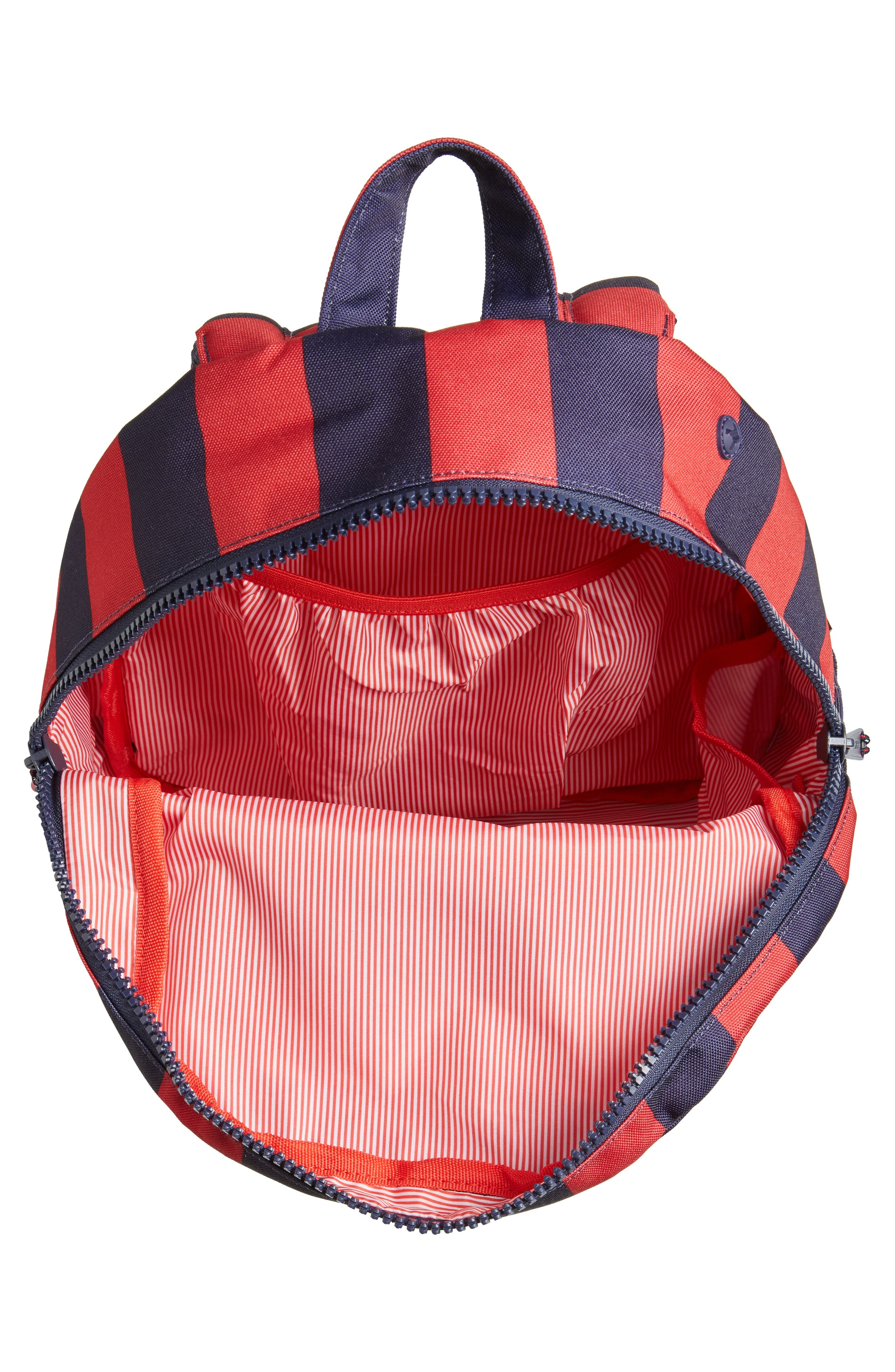 Heritage Stripe Backpack,                             Alternate thumbnail 3, color,                             400