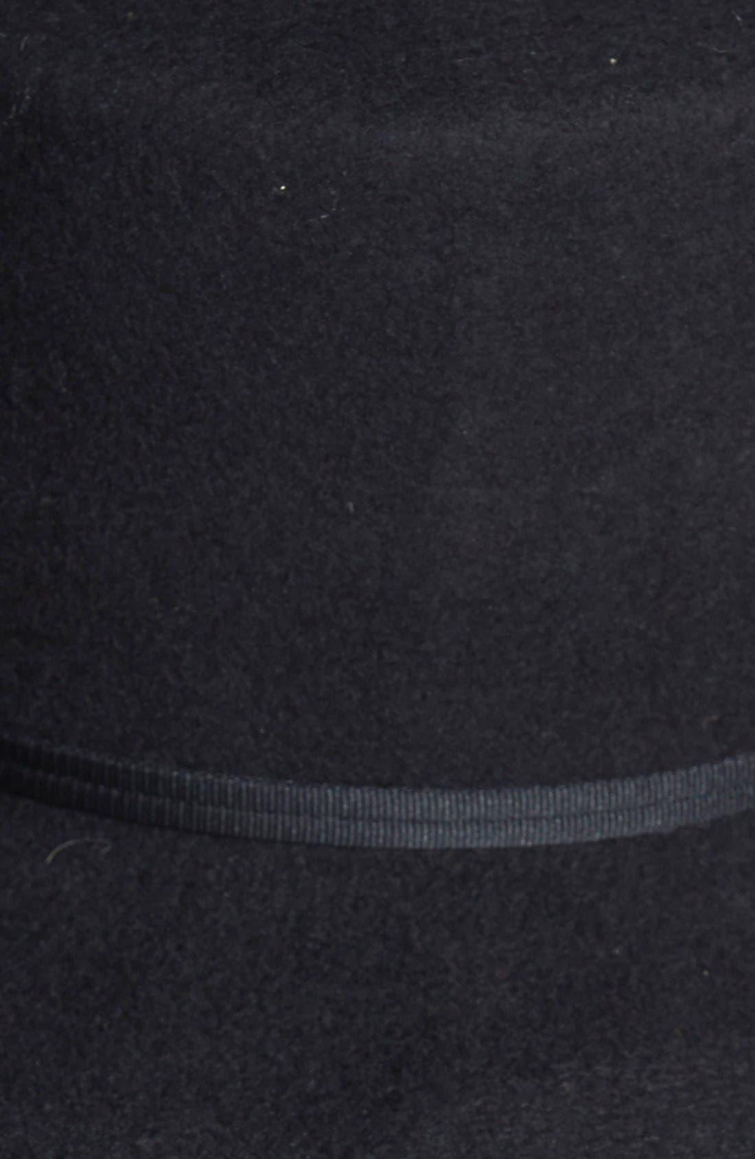 BRIXTON,                             'Buckley' Floppy Wool Hat,                             Alternate thumbnail 2, color,                             001