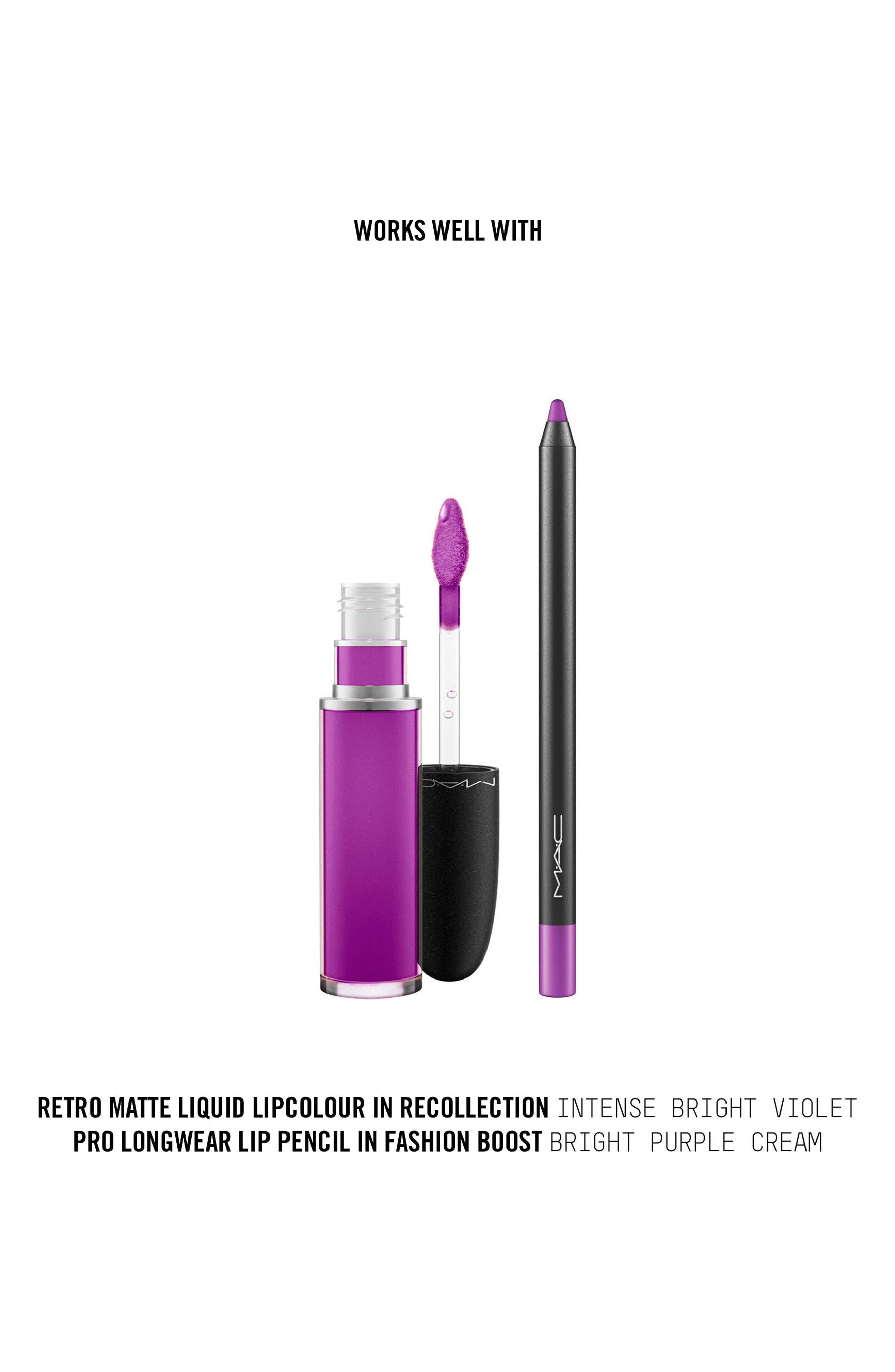MAC Retro Matte Liquid Lipcolor,                             Alternate thumbnail 189, color,